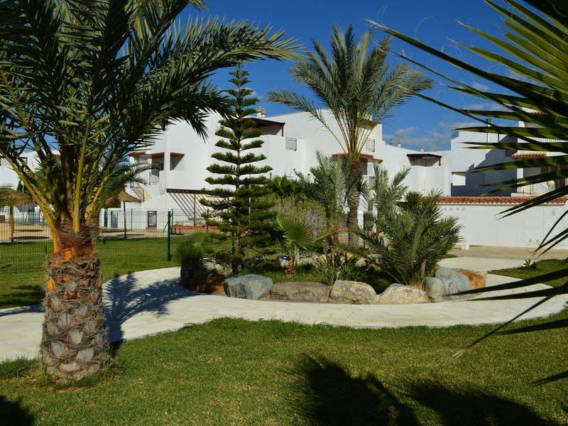 Ground floor facing the nudist beach, with private patio and East orientation
