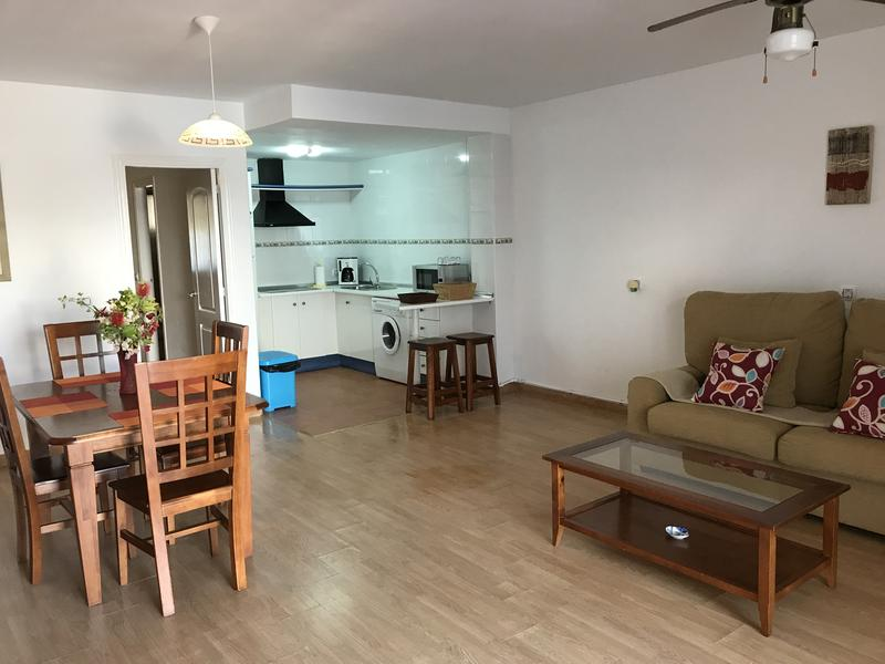 G floor facing the nudist beach, with private patio and East orientation, 1 bdr