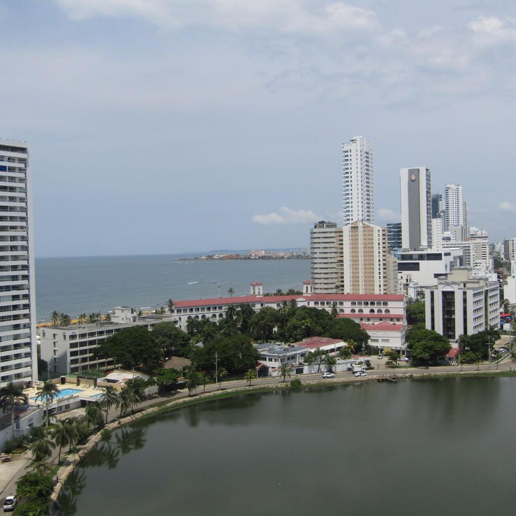 Wohnung in Cartagena Beachfront 1mr11 Mit Klimaanlage und Wifi nach Hause