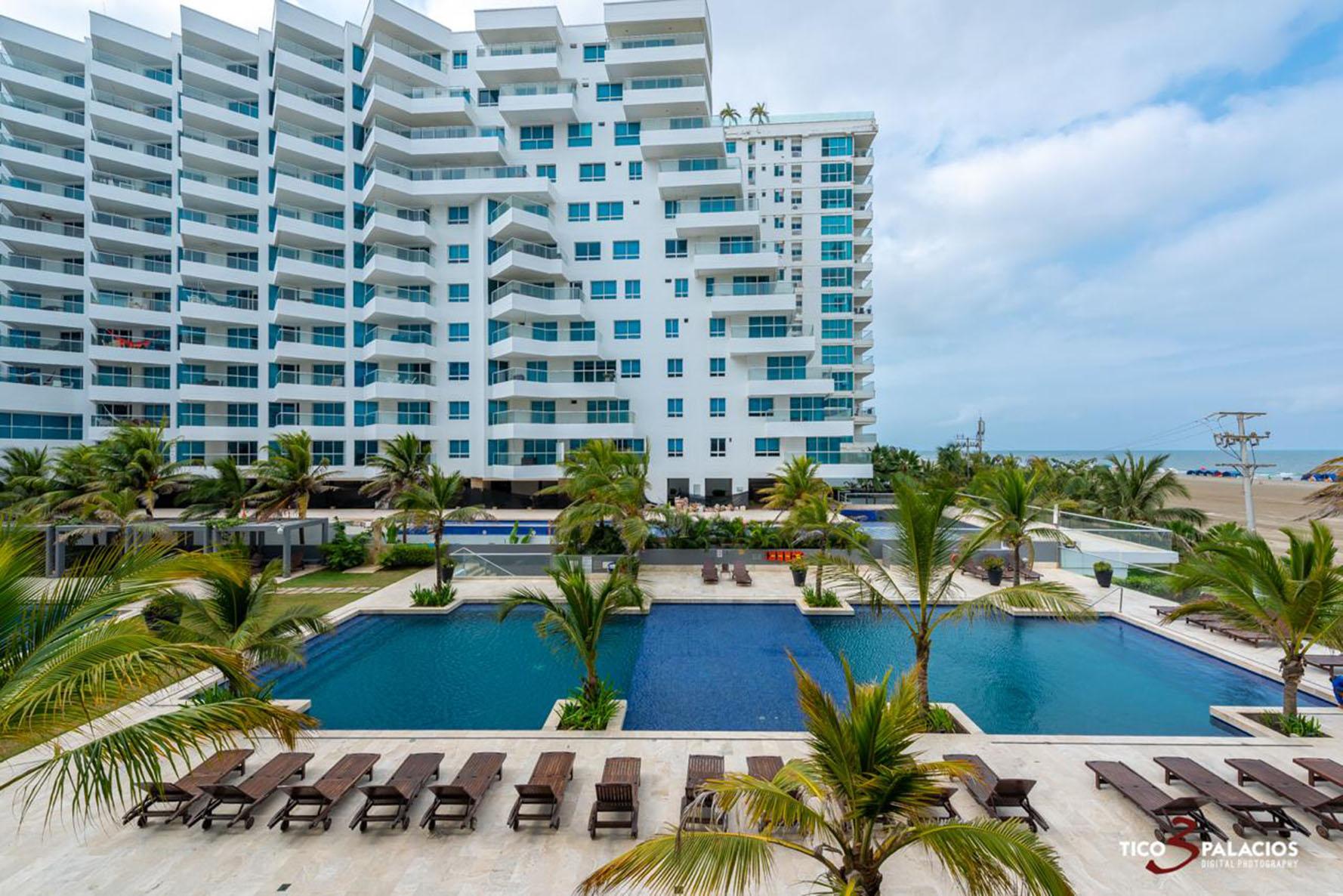 Wohnung in Cartagena direkt am Meer 2me2 Mit Klimaanlage und Wifi
