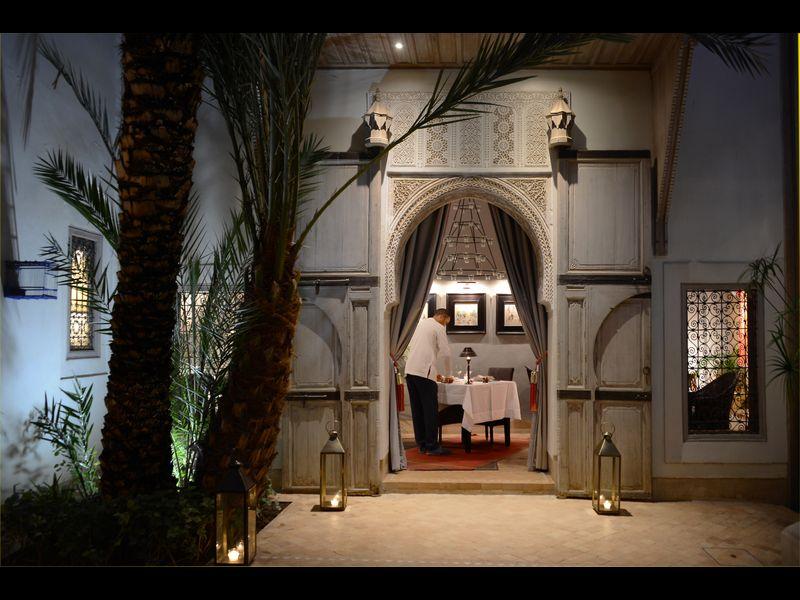 Riad de charme et d'élégance, magnifiquement restauré et décoré et belle piscine