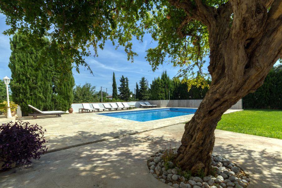 Villa Sant Jordi con piscina privada