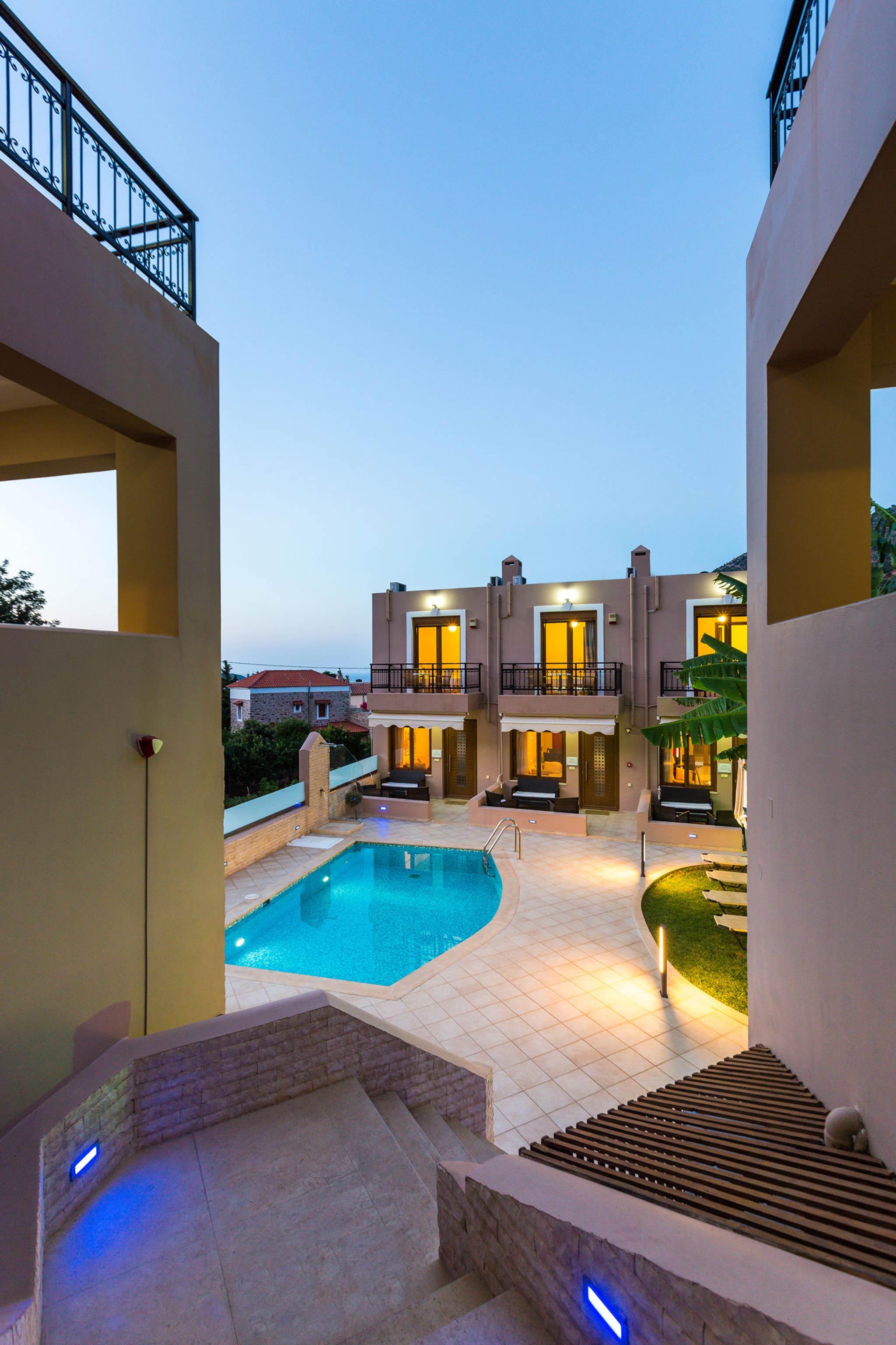 Ferienhaus Diese Villa auf zwei Ebenen ist der perfekte Ort, um in Rethymnon auf Kreta weh zu bleiben (2623387), Roumeli, Kreta Nordküste, Kreta, Griechenland, Bild 2