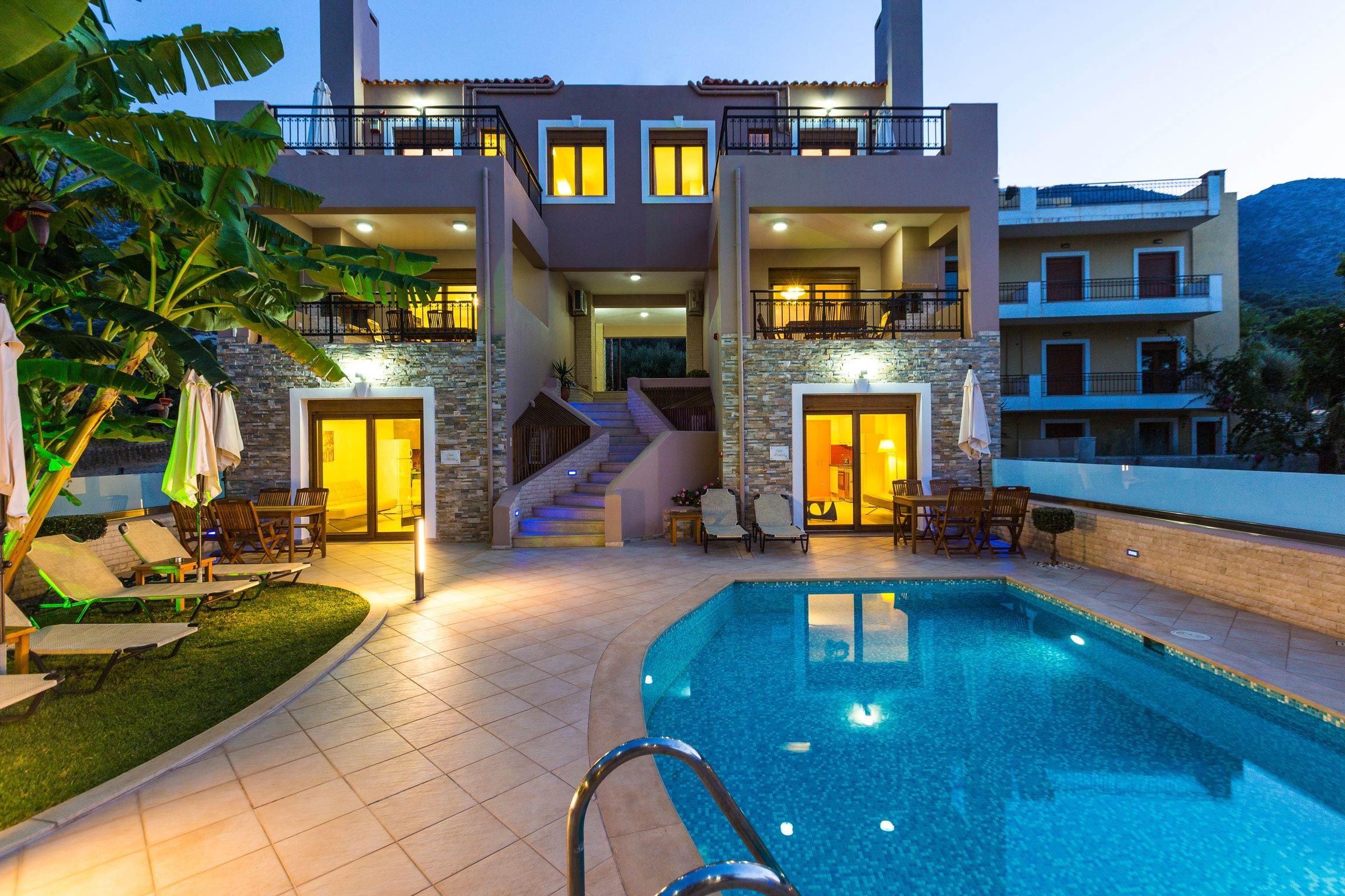 Ferienhaus Diese Villa auf zwei Ebenen ist der perfekte Ort, um in Rethymnon auf Kreta weh zu bleiben (2623387), Roumeli, Kreta Nordküste, Kreta, Griechenland, Bild 1