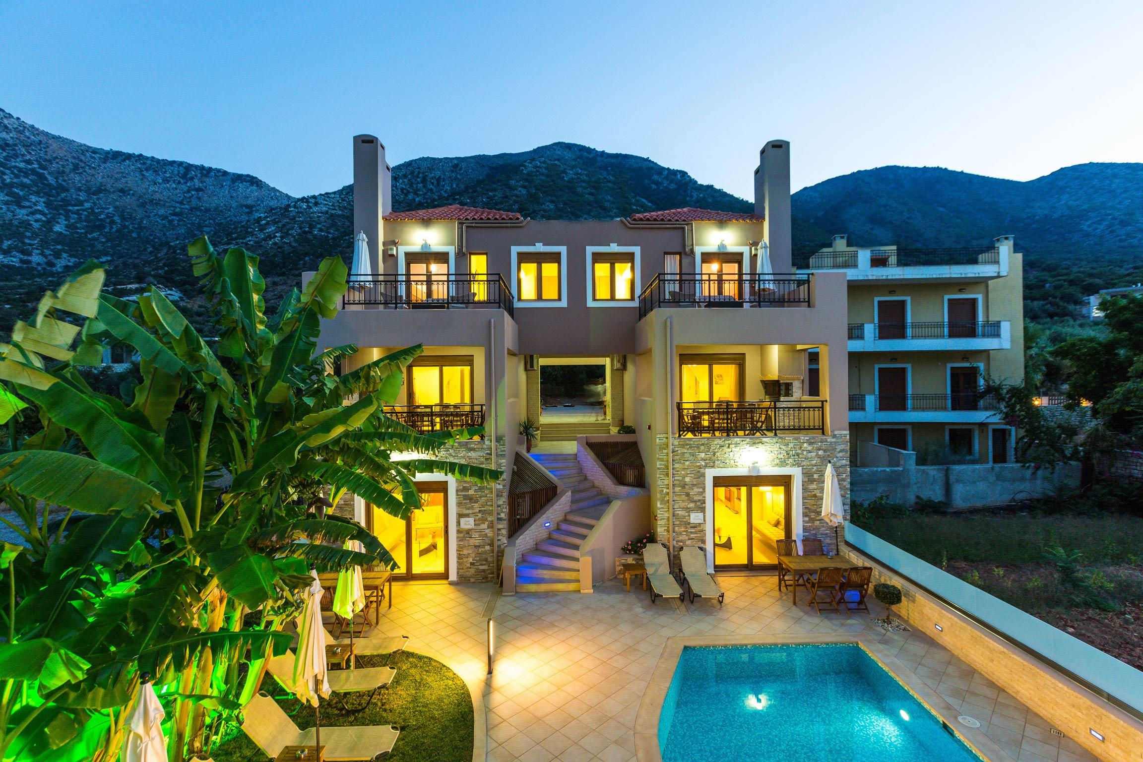 Ferienhaus Diese Villa auf zwei Ebenen ist der perfekte Ort, um in Rethymnon auf Kreta weh zu bleiben (2623387), Roumeli, Kreta Nordküste, Kreta, Griechenland, Bild 4