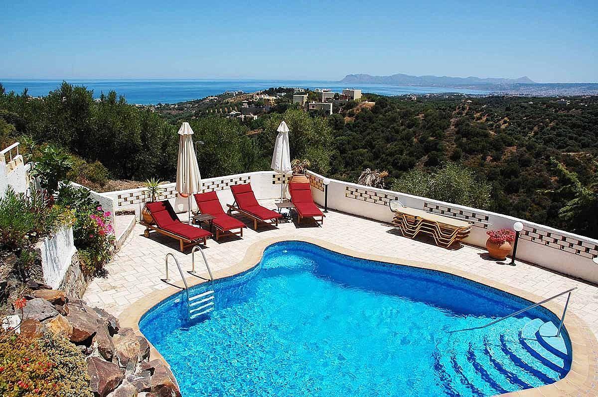 Ferienhaus Schne Villa mit eigenem Pool (2712570), Stalos, Kreta Nordküste, Kreta, Griechenland, Bild 5