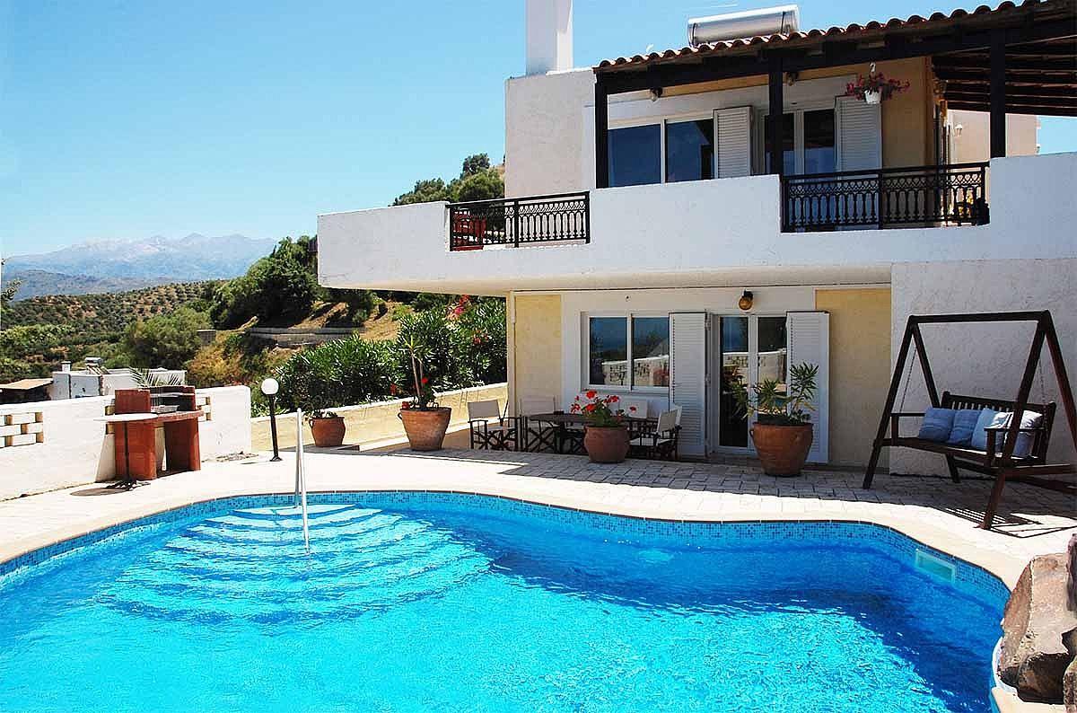 Ferienhaus Schne Villa mit eigenem Pool (2712570), Stalos, Kreta Nordküste, Kreta, Griechenland, Bild 1