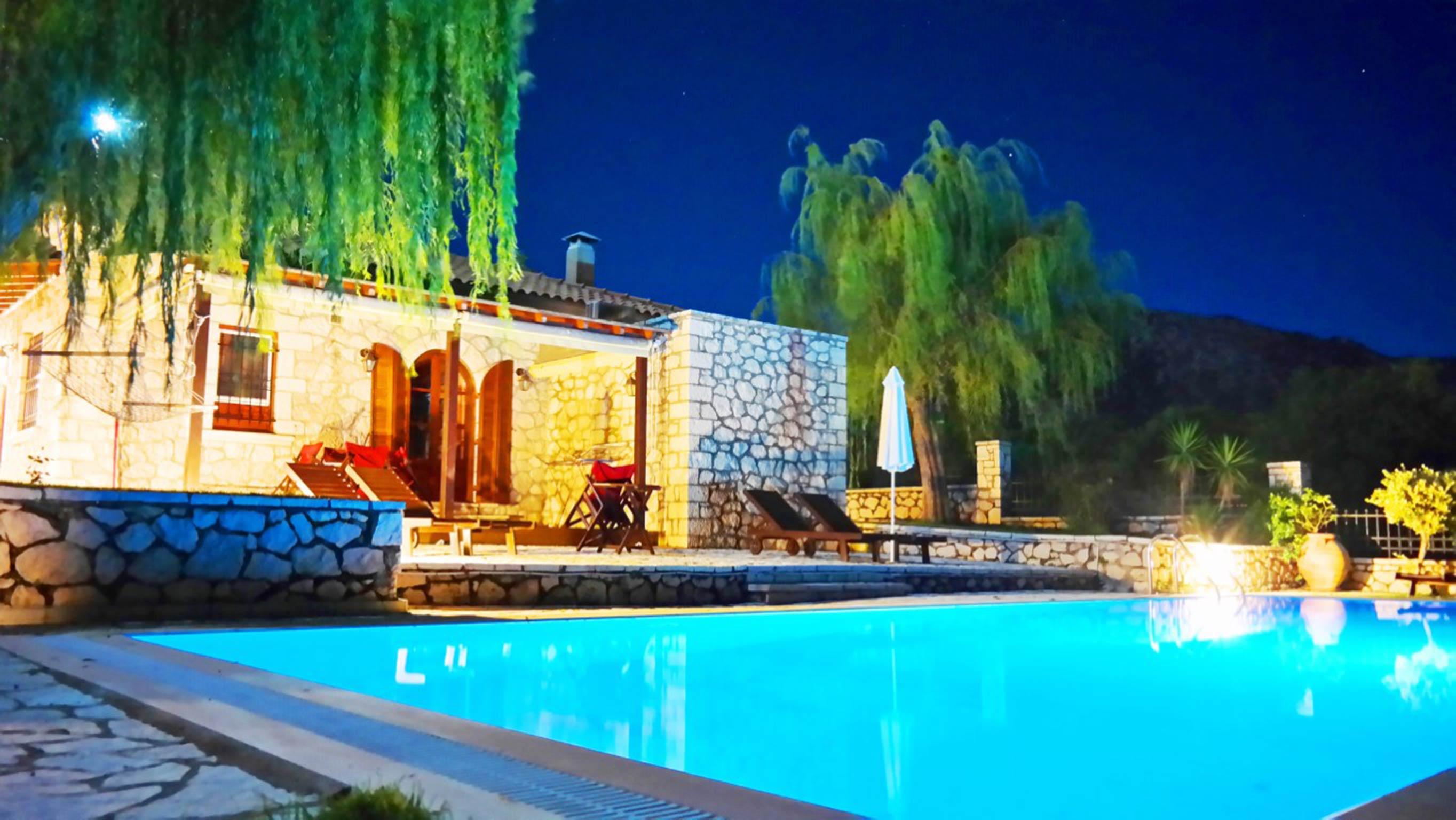 Holiday house Lefkada Villas-villa mit eigenem Pool (2599102), Vafkeri, Lefkada, Ionian Islands, Greece, picture 8