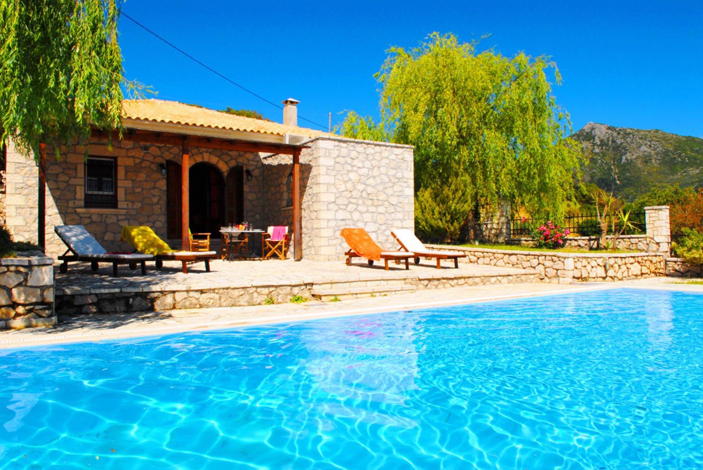 Holiday house Lefkada Villas-villa mit eigenem Pool (2599102), Vafkeri, Lefkada, Ionian Islands, Greece, picture 6