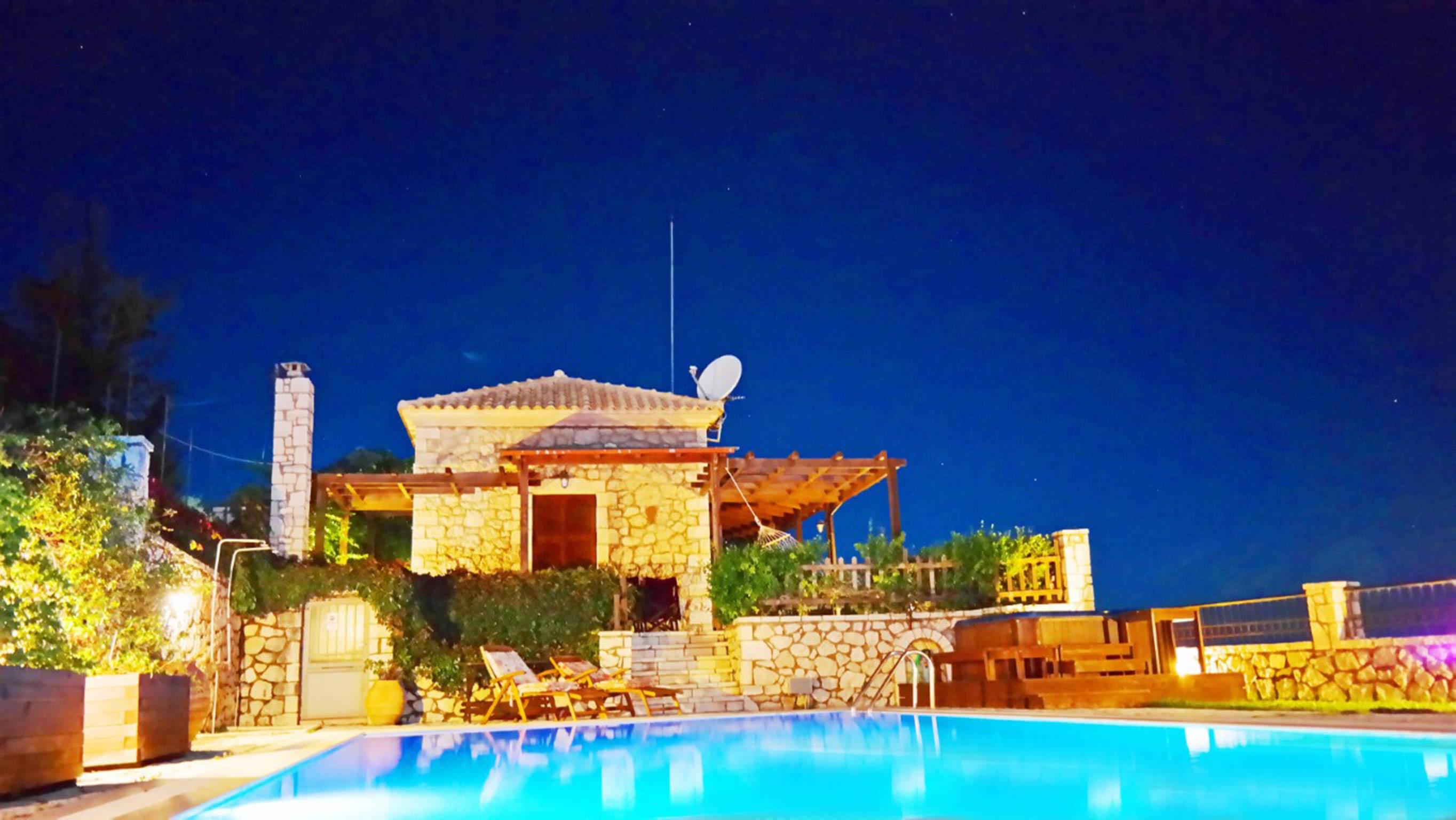 Holiday house Lefkada Villas-villa mit eigenem Pool (2599102), Vafkeri, Lefkada, Ionian Islands, Greece, picture 14