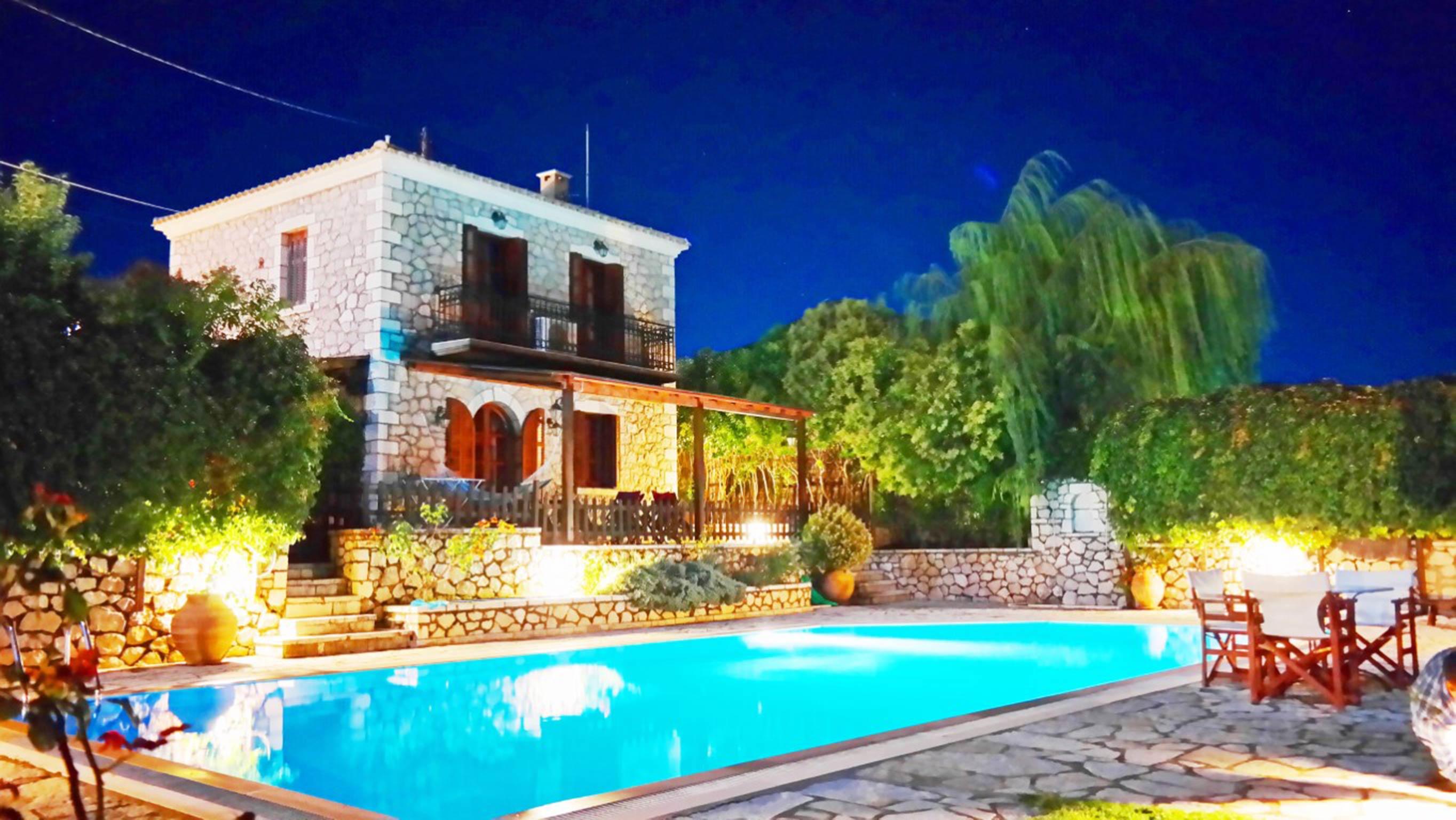 Holiday house Lefkada Villas-villa mit eigenem Pool (2599102), Vafkeri, Lefkada, Ionian Islands, Greece, picture 5