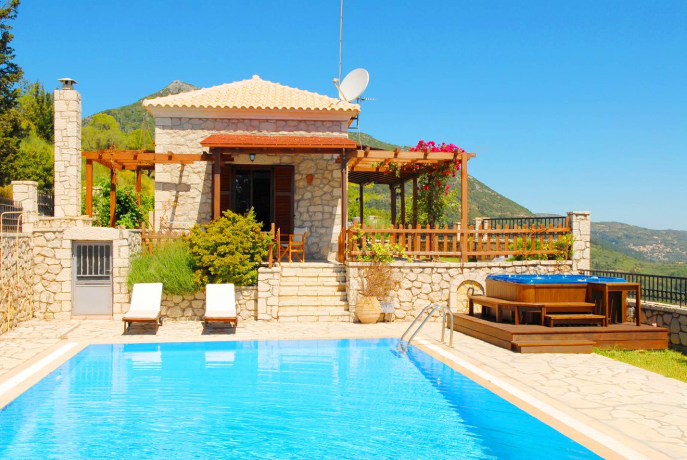 Holiday house Lefkada Villas-villa mit eigenem Pool (2599102), Vafkeri, Lefkada, Ionian Islands, Greece, picture 1