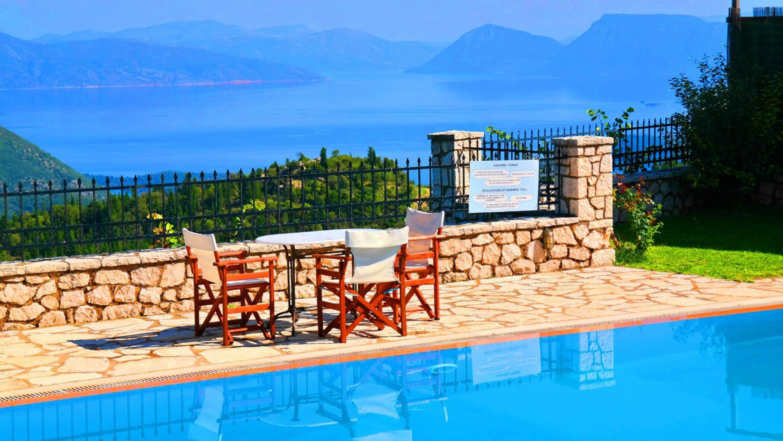 Holiday house Lefkada Villas-villa mit eigenem Pool (2599102), Vafkeri, Lefkada, Ionian Islands, Greece, picture 7