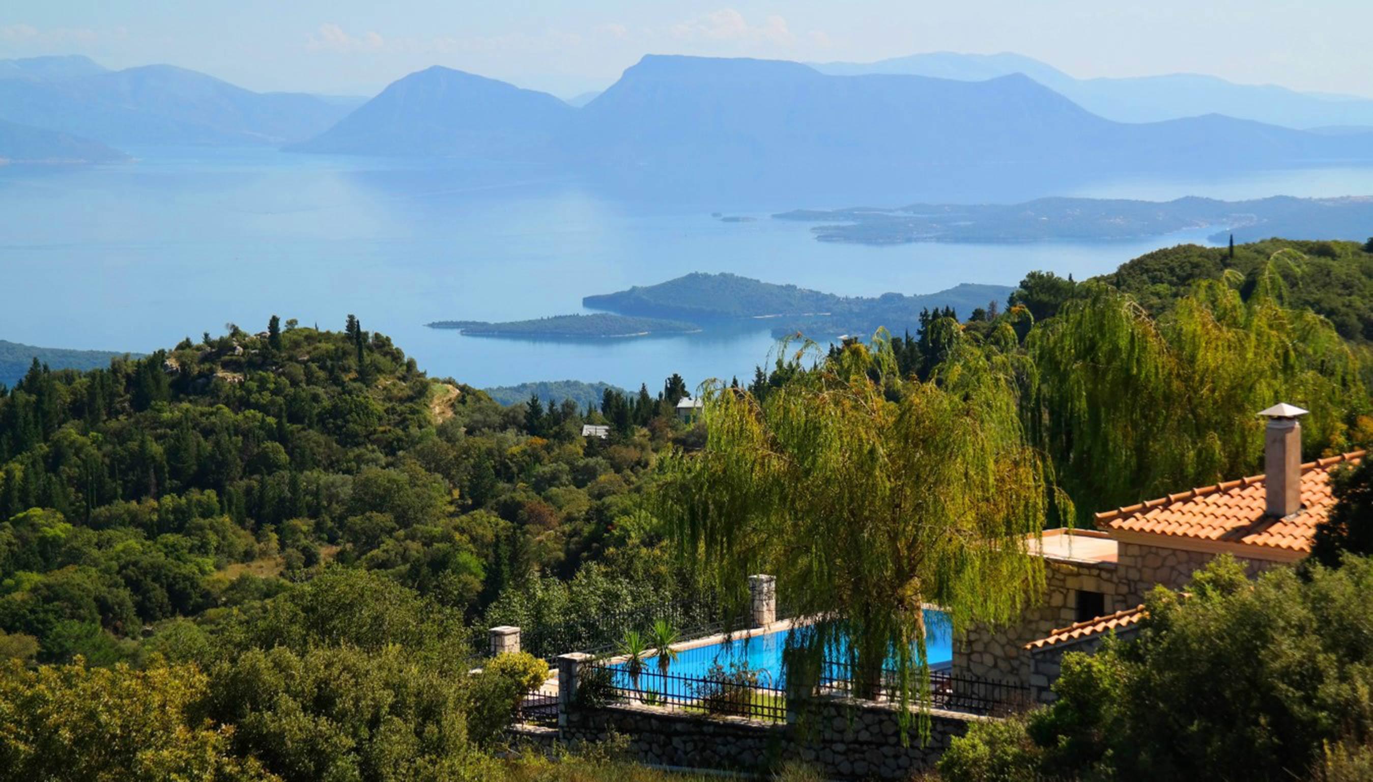 Holiday house Lefkada Villas-villa mit eigenem Pool (2599102), Vafkeri, Lefkada, Ionian Islands, Greece, picture 12