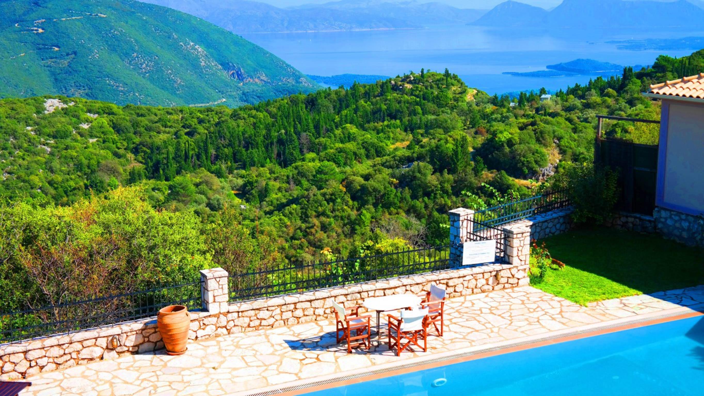 Holiday house Lefkada Villas-villa mit eigenem Pool (2599102), Vafkeri, Lefkada, Ionian Islands, Greece, picture 10