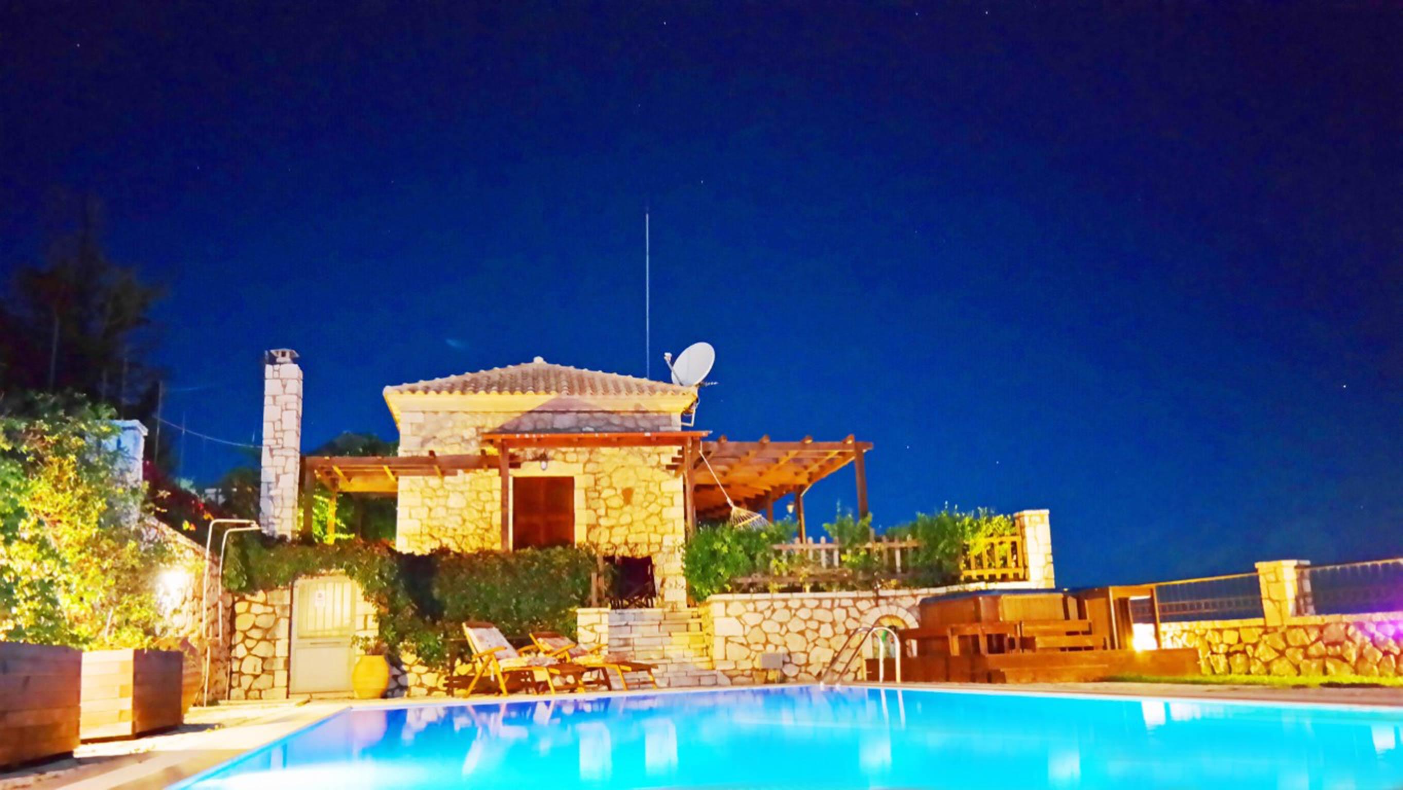 Holiday house Lefkada Villas-villa mit eigenem Pool (2599102), Vafkeri, Lefkada, Ionian Islands, Greece, picture 3