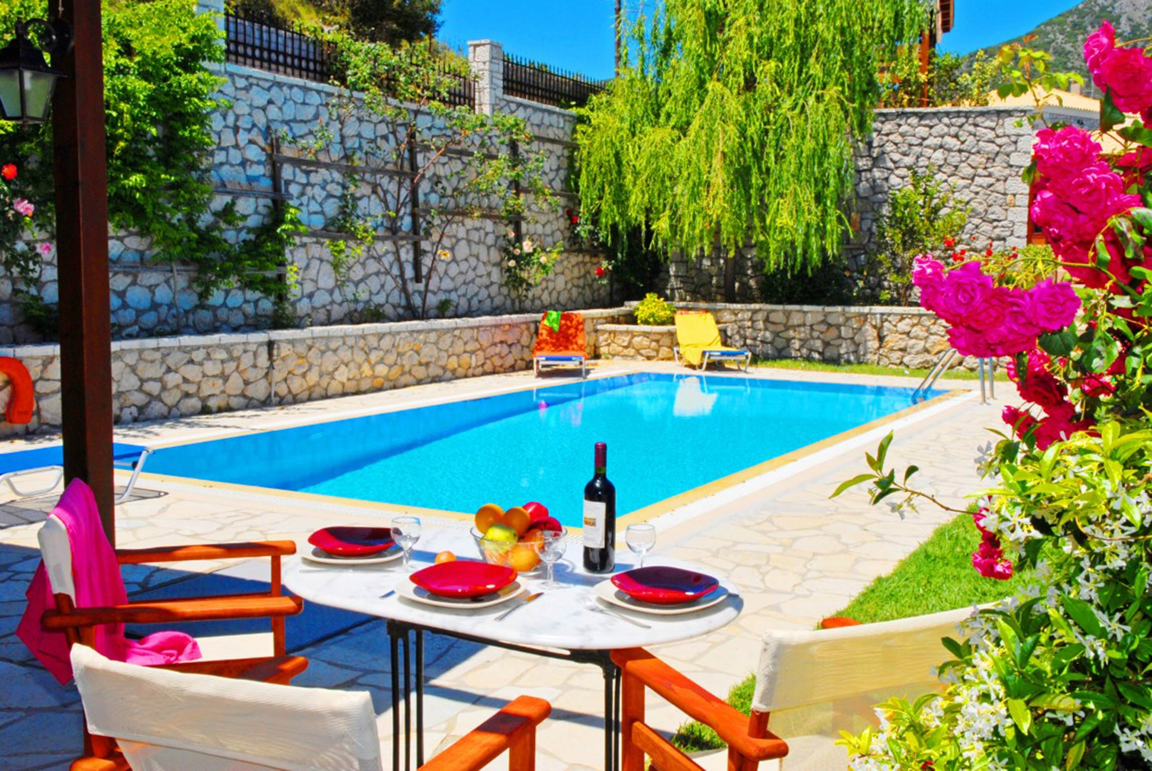 Holiday house Lefkada Villas-villa mit eigenem Pool (2599102), Vafkeri, Lefkada, Ionian Islands, Greece, picture 11