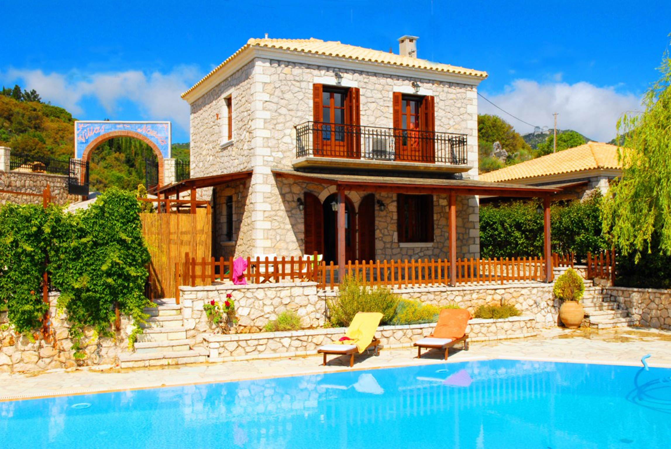 Holiday house Lefkada Villas-villa mit eigenem Pool (2599102), Vafkeri, Lefkada, Ionian Islands, Greece, picture 4