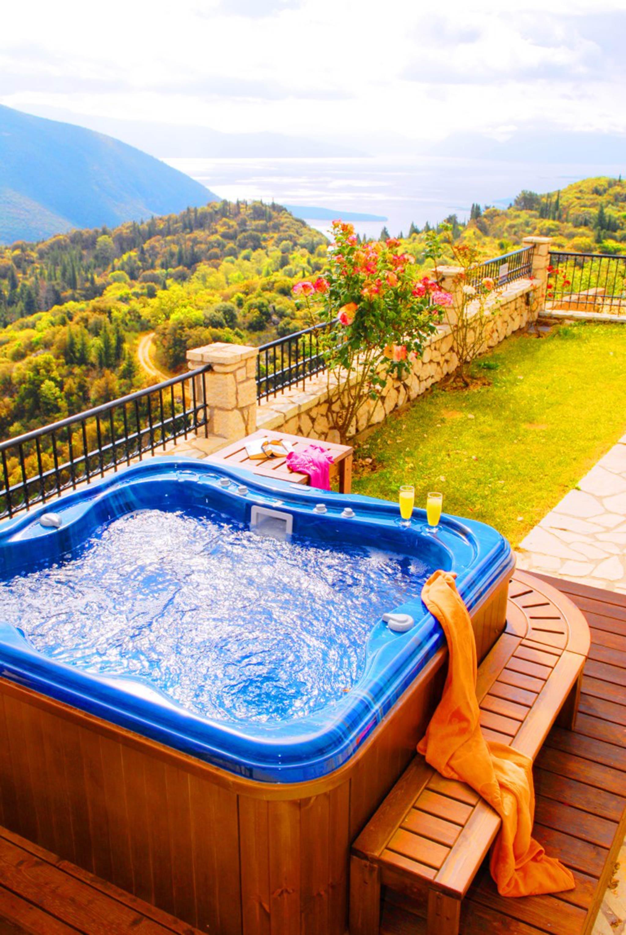 Holiday house Lefkada Villas-villa mit eigenem Pool (2599102), Vafkeri, Lefkada, Ionian Islands, Greece, picture 15