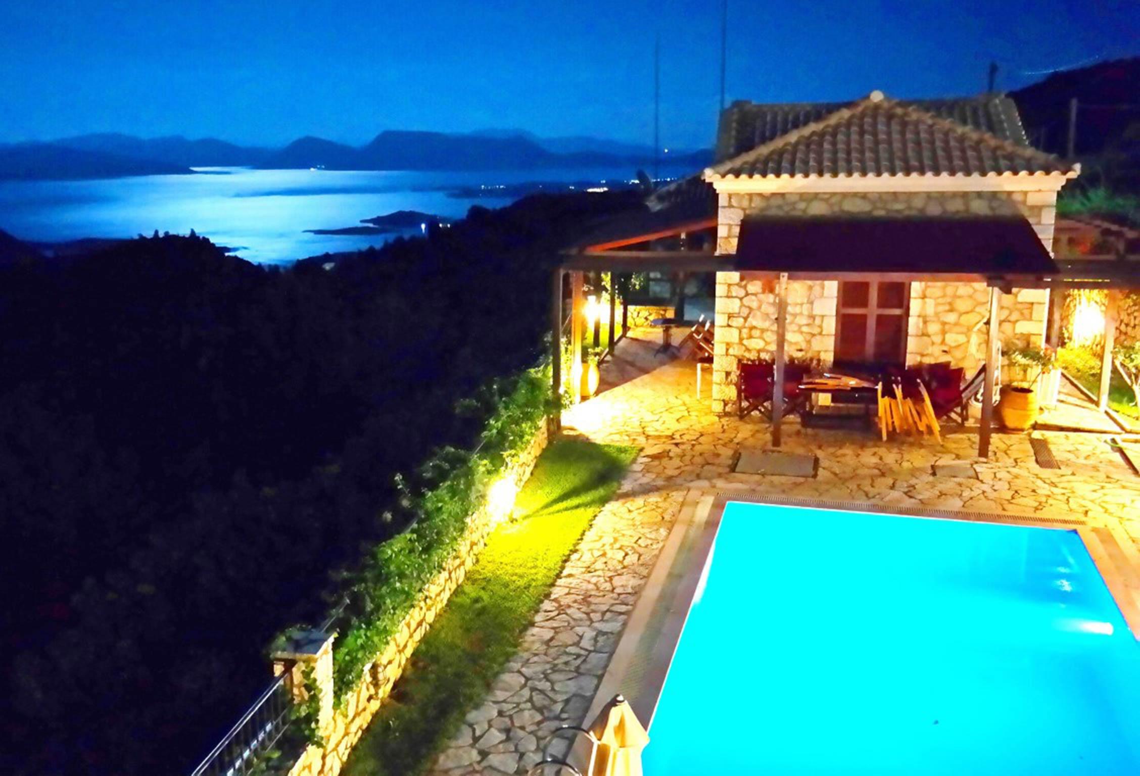 Holiday house Lefkada Villas-villa mit eigenem Pool (2599102), Vafkeri, Lefkada, Ionian Islands, Greece, picture 2