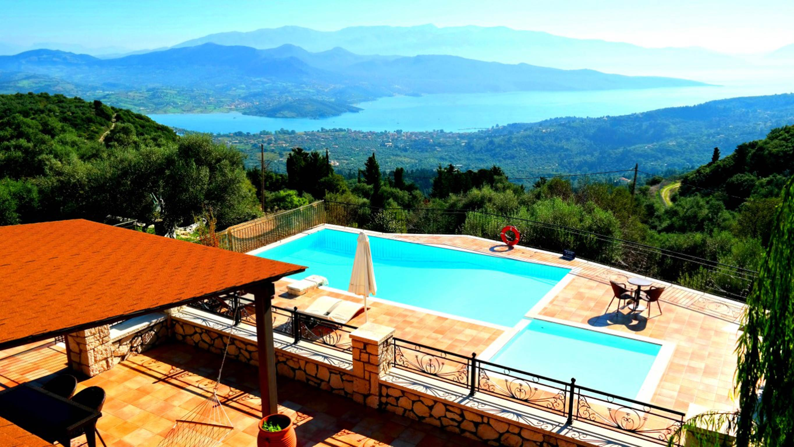 Holiday house Schöne 2 Schlafzimmer Villa mit privatem Pool auf der Insel Os Lefkada (2599104), Spanochori, Lefkada, Ionian Islands, Greece, picture 9