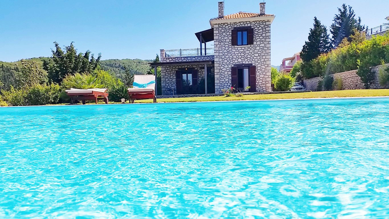 Holiday house Schöne 2 Schlafzimmer Villa mit privatem Pool auf der Insel Os Lefkada (2599104), Spanochori, Lefkada, Ionian Islands, Greece, picture 12