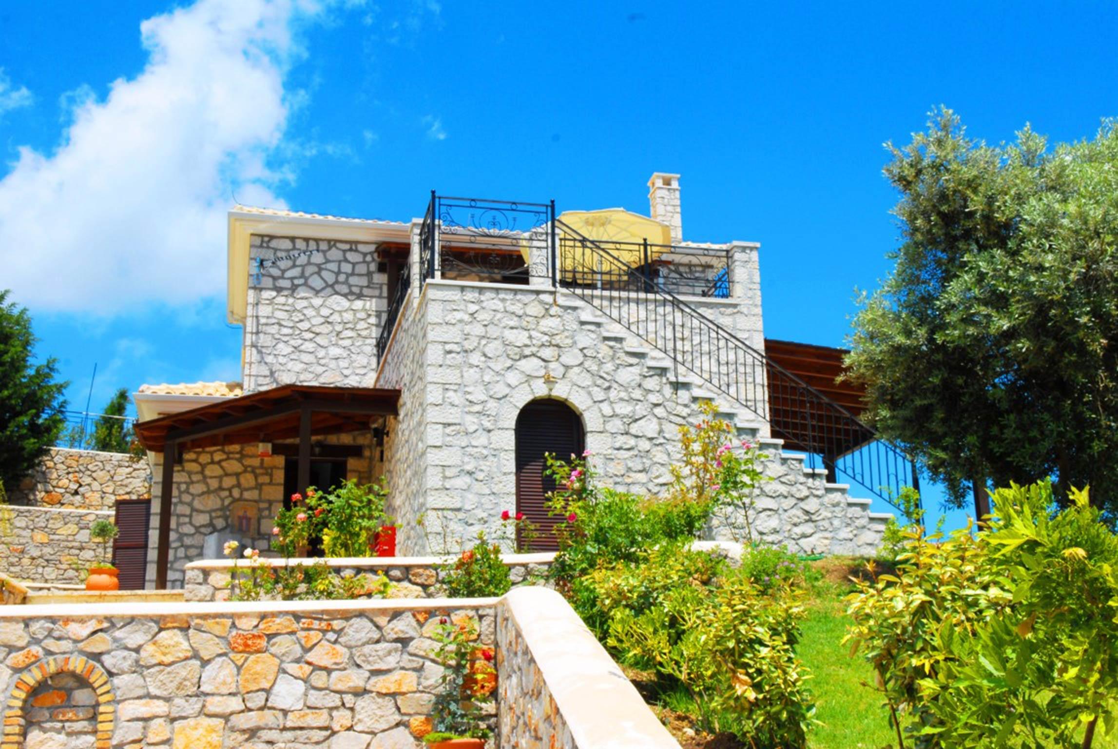 Holiday house Schöne 2 Schlafzimmer Villa mit privatem Pool auf der Insel Os Lefkada (2599104), Spanochori, Lefkada, Ionian Islands, Greece, picture 10