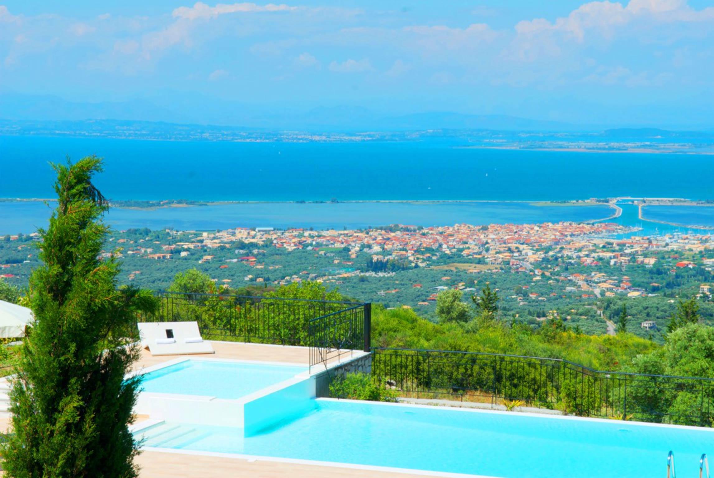 Holiday house Schöne 2 Schlafzimmer Villa mit privatem Pool auf der Insel Os Lefkada (2599104), Spanochori, Lefkada, Ionian Islands, Greece, picture 8