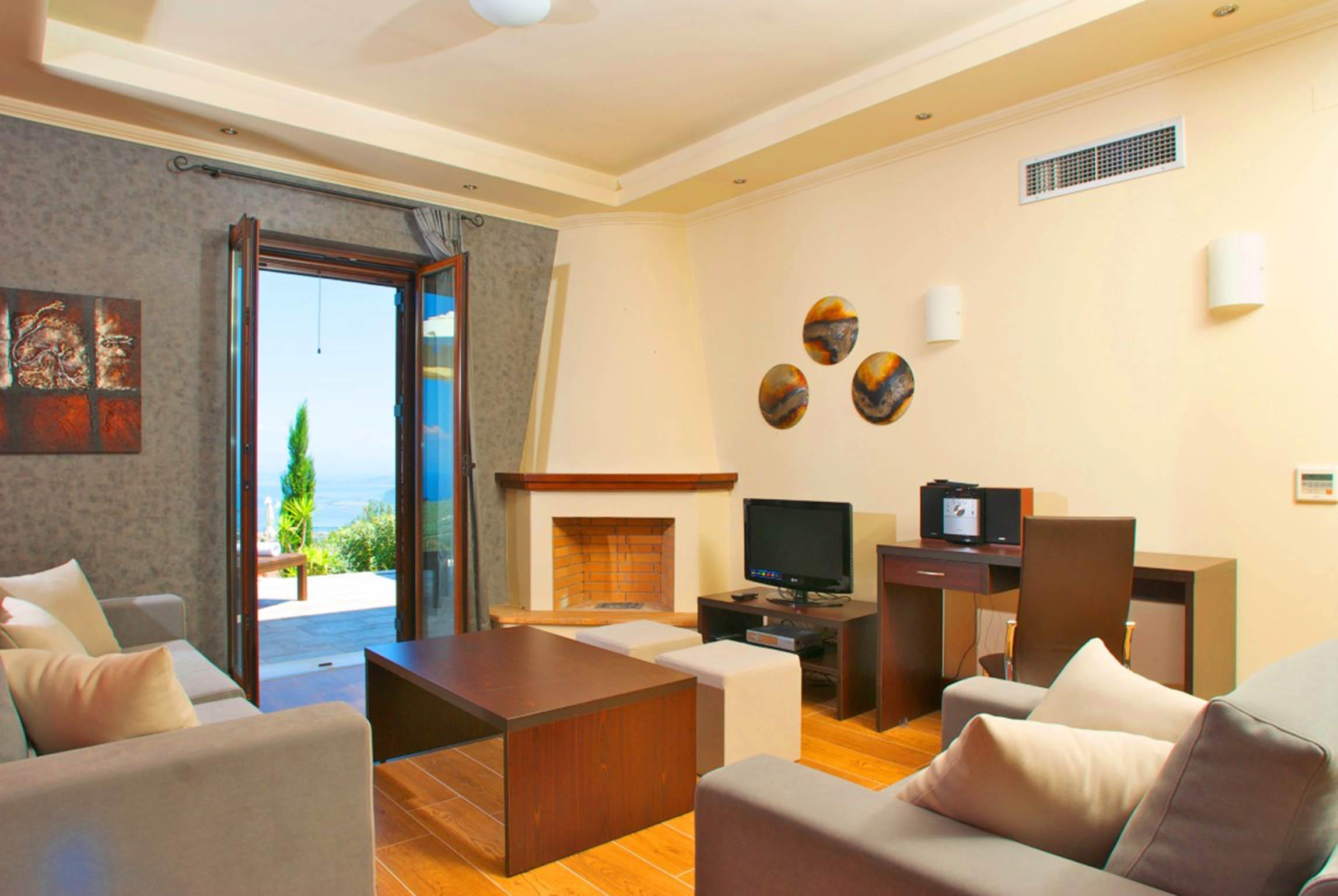 Holiday house Schöne 2 Schlafzimmer Villa mit privatem Pool auf der Insel Os Lefkada (2599104), Spanochori, Lefkada, Ionian Islands, Greece, picture 14