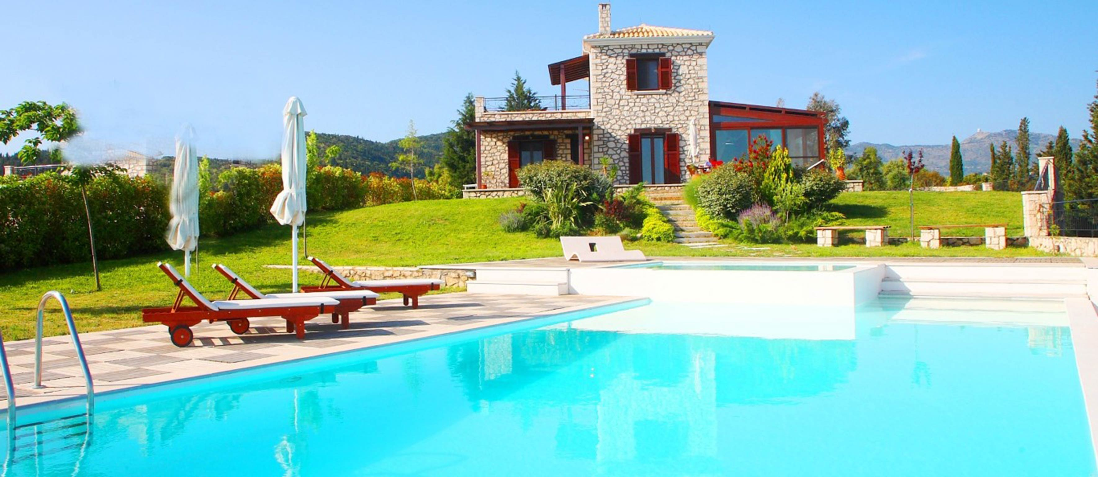 Holiday house Schöne 2 Schlafzimmer Villa mit privatem Pool auf der Insel Os Lefkada (2599104), Spanochori, Lefkada, Ionian Islands, Greece, picture 6