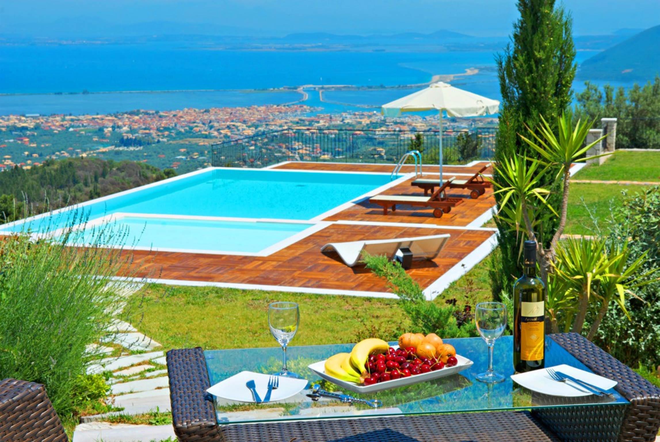 Holiday house Schöne 2 Schlafzimmer Villa mit privatem Pool auf der Insel Os Lefkada (2599104), Spanochori, Lefkada, Ionian Islands, Greece, picture 7