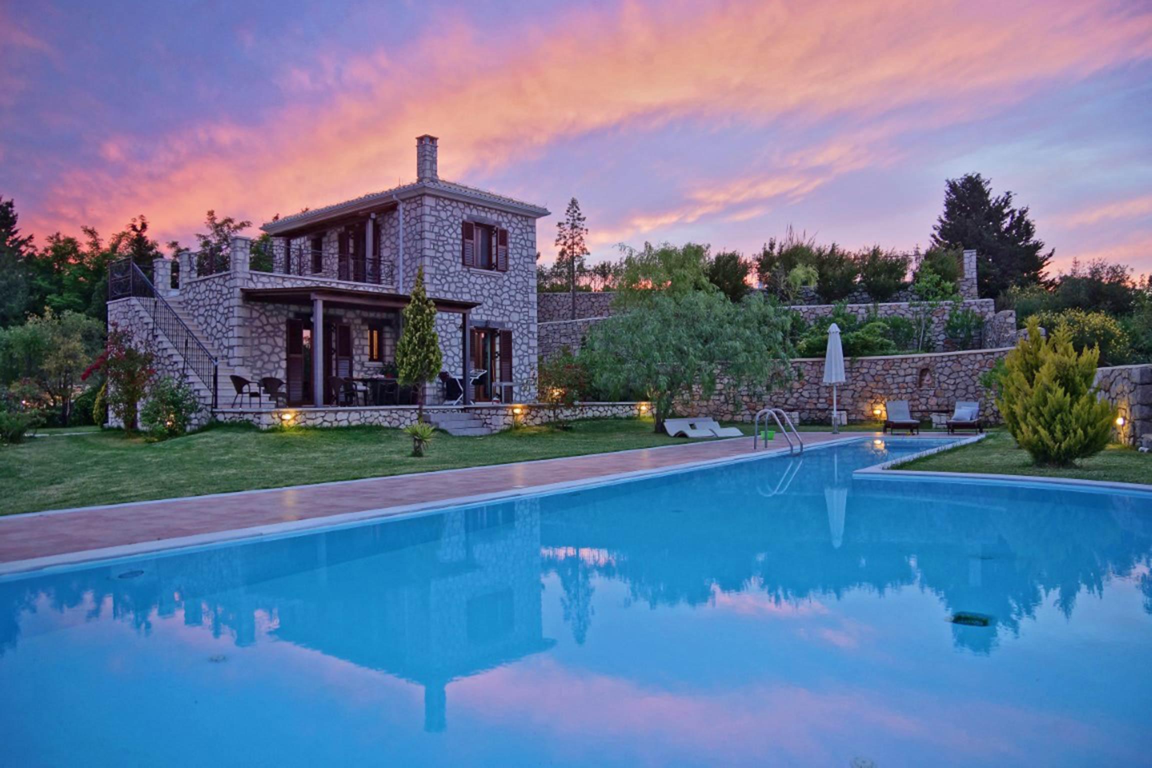 Holiday house Schöne 2 Schlafzimmer Villa mit privatem Pool auf der Insel Os Lefkada (2599104), Spanochori, Lefkada, Ionian Islands, Greece, picture 5