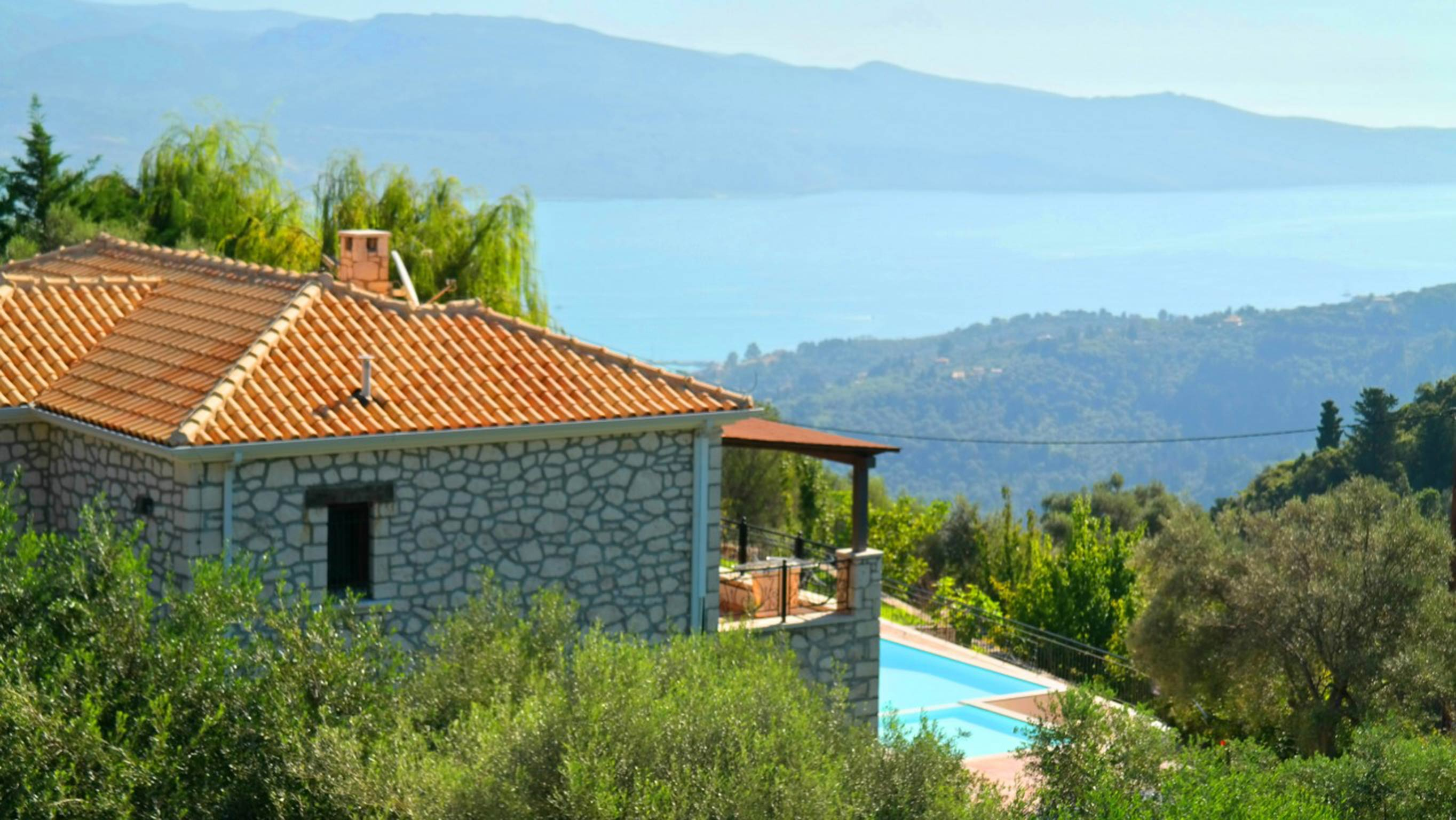 Holiday house Schöne 2 Schlafzimmer Villa mit privatem Pool auf der Insel Os Lefkada (2599104), Spanochori, Lefkada, Ionian Islands, Greece, picture 2