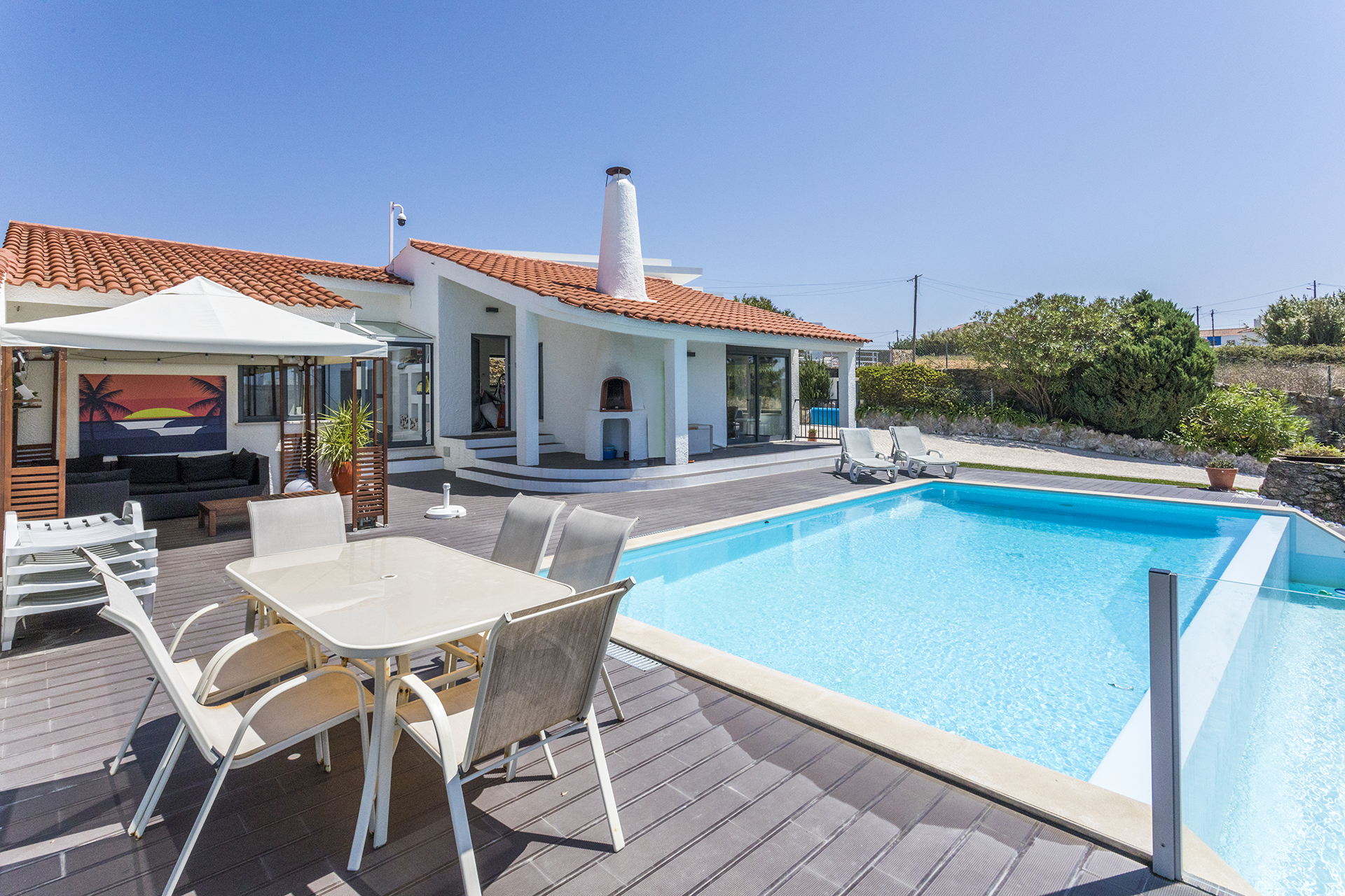 Ericeira hills de luxe villa with bedr baths heated pool