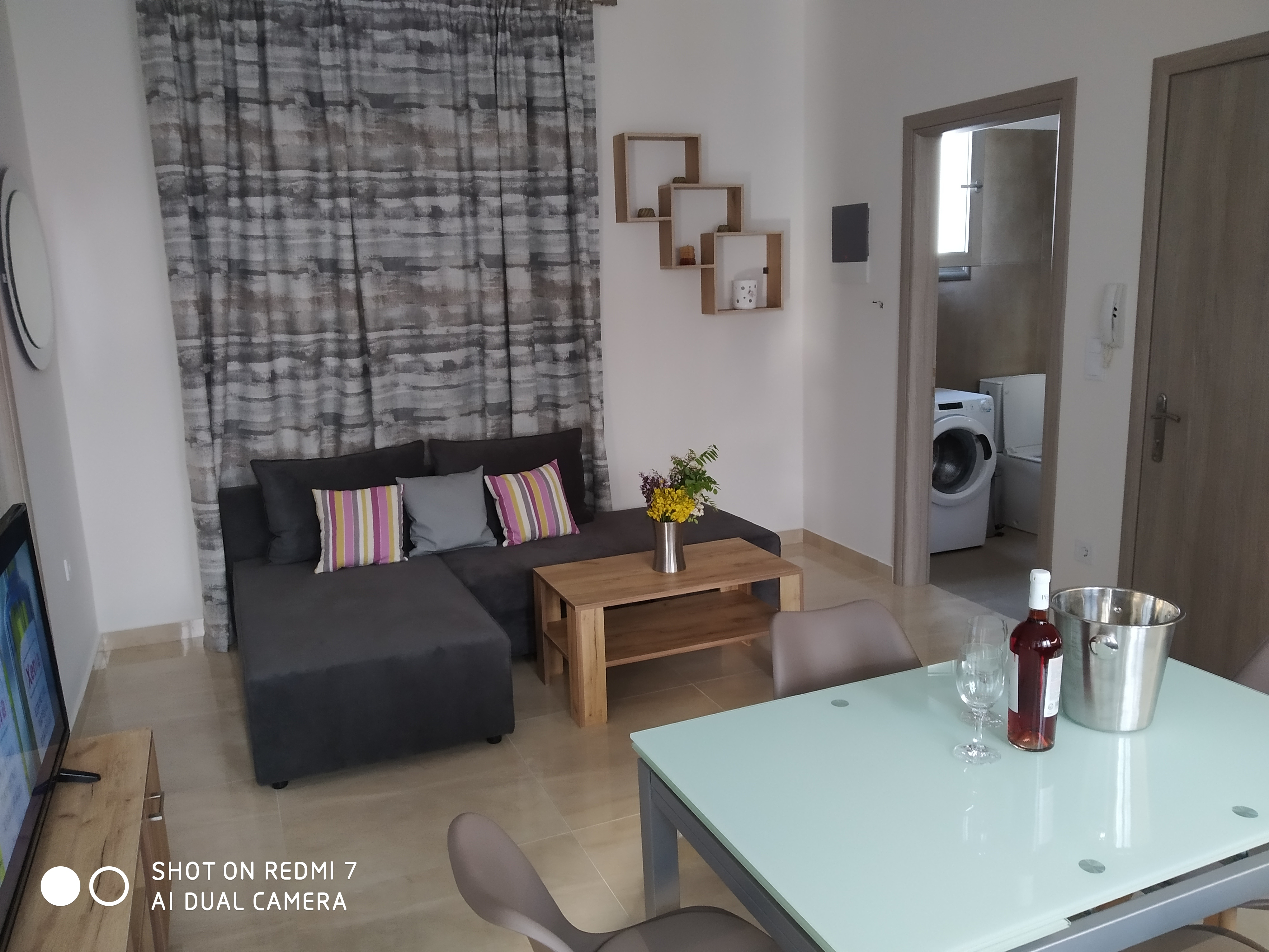 Holiday apartment Komfortable neu erbaute 2-Zimmer-Wohnung, 15 Meter vom Meer entfernt (2792118), Kardamaina, Kos, Dodecanes Islands, Greece, picture 21