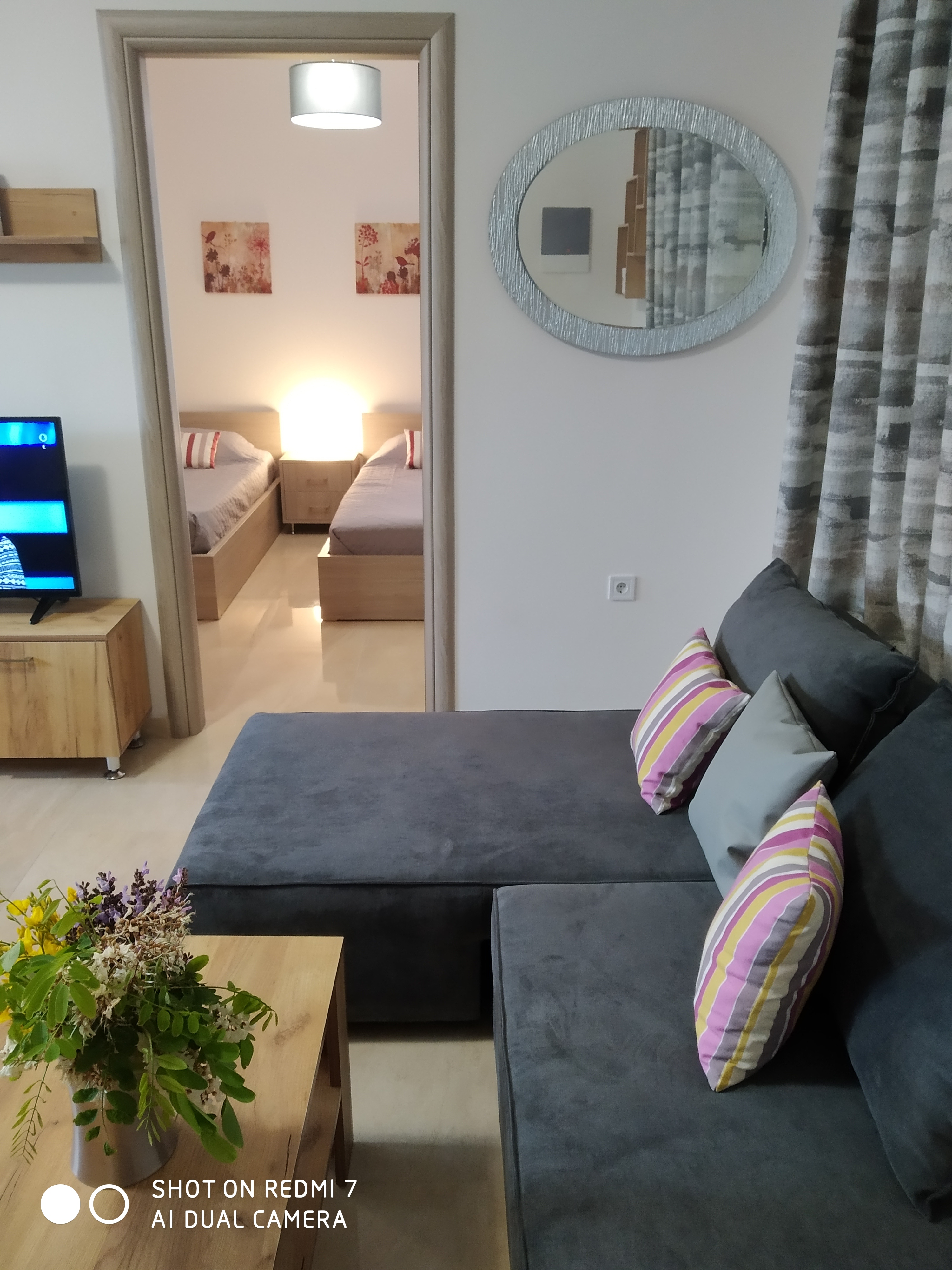 Holiday apartment Komfortable neu erbaute 2-Zimmer-Wohnung, 15 Meter vom Meer entfernt (2792118), Kardamaina, Kos, Dodecanes Islands, Greece, picture 27