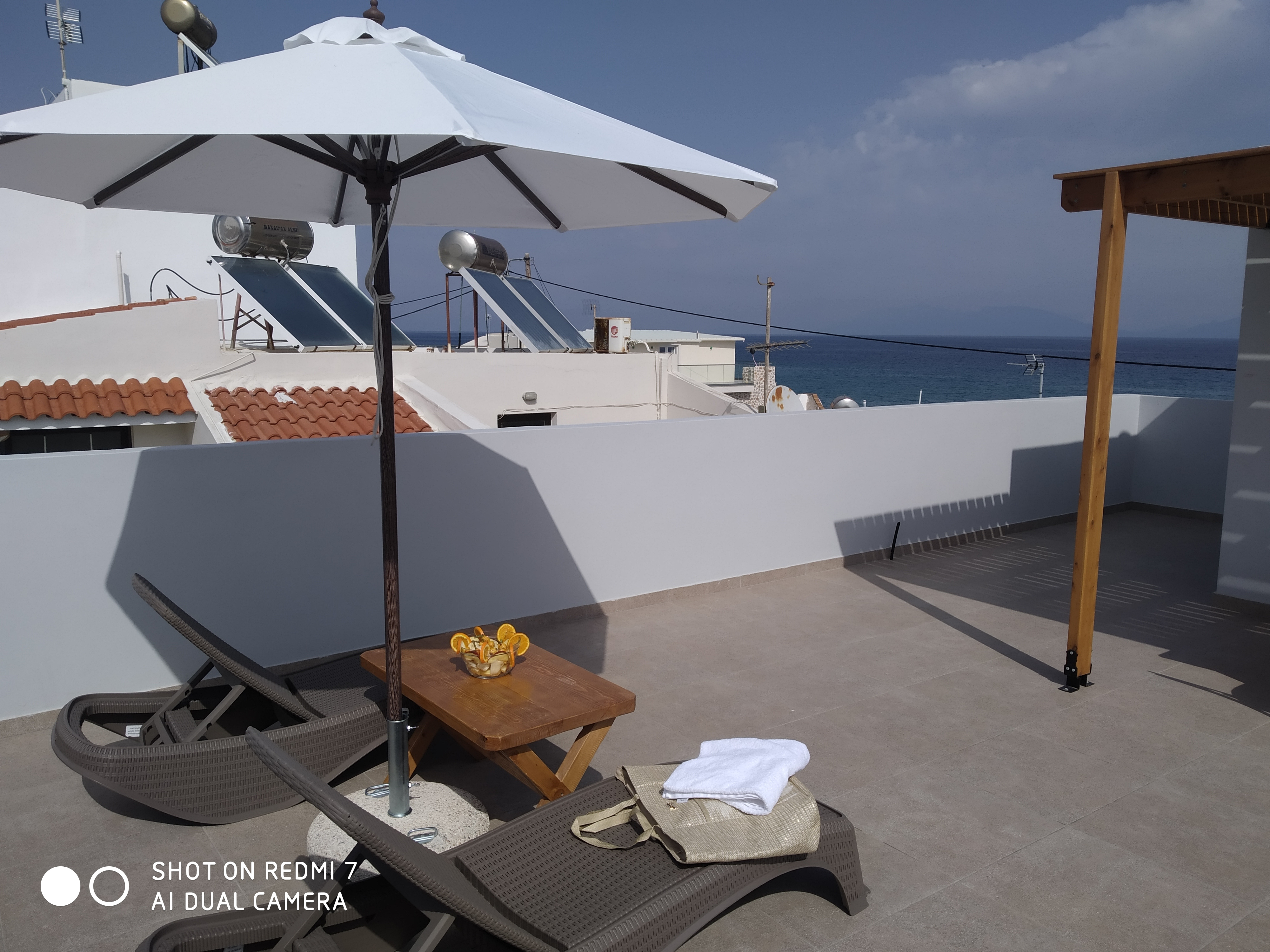 Holiday apartment Komfortable neu erbaute 2-Zimmer-Wohnung, 15 Meter vom Meer entfernt (2792118), Kardamaina, Kos, Dodecanes Islands, Greece, picture 6