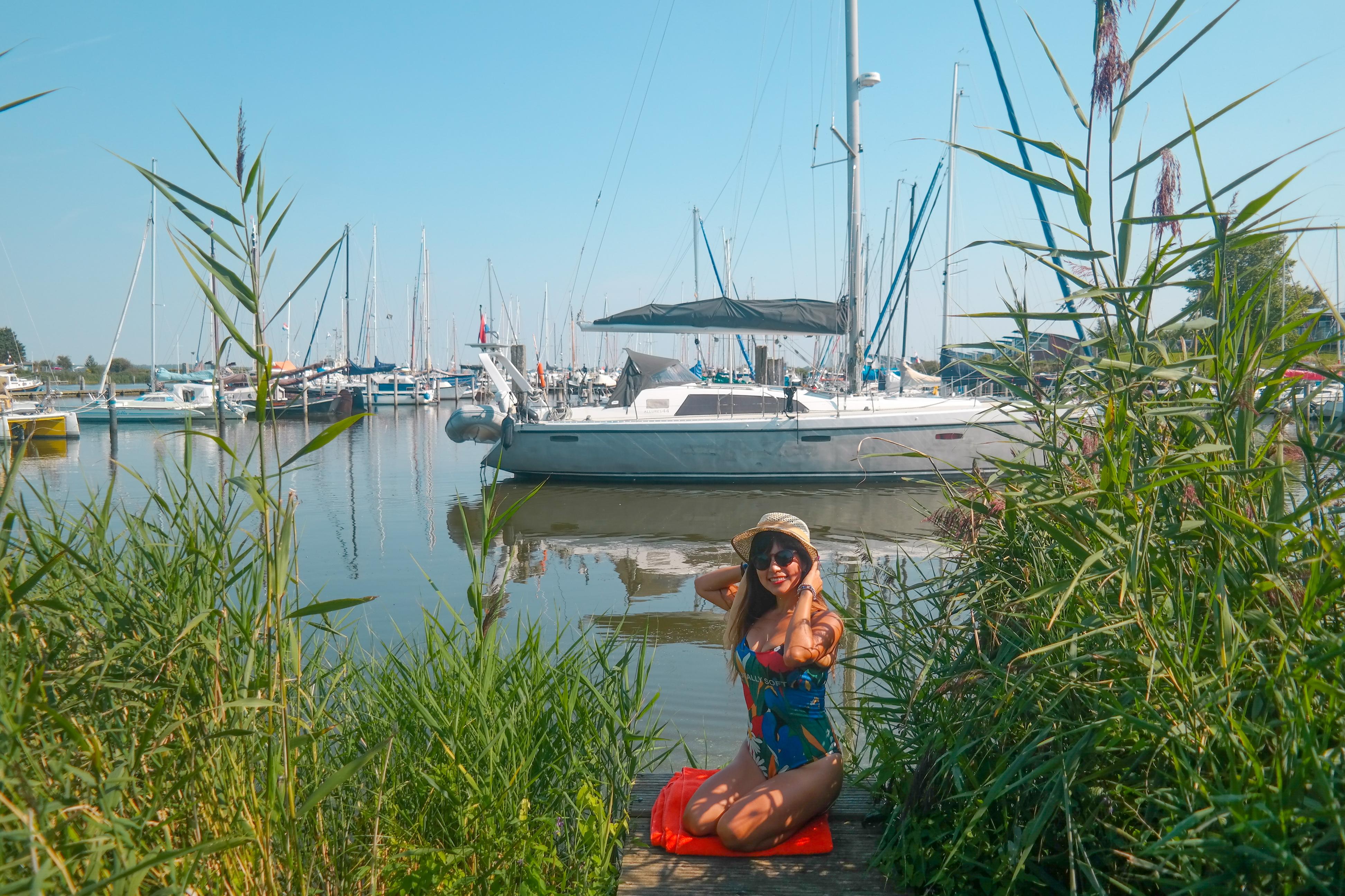 Haus direkt am Lauwersmeer mit Parkplatz Ruhige Lage Haustiere willkommen