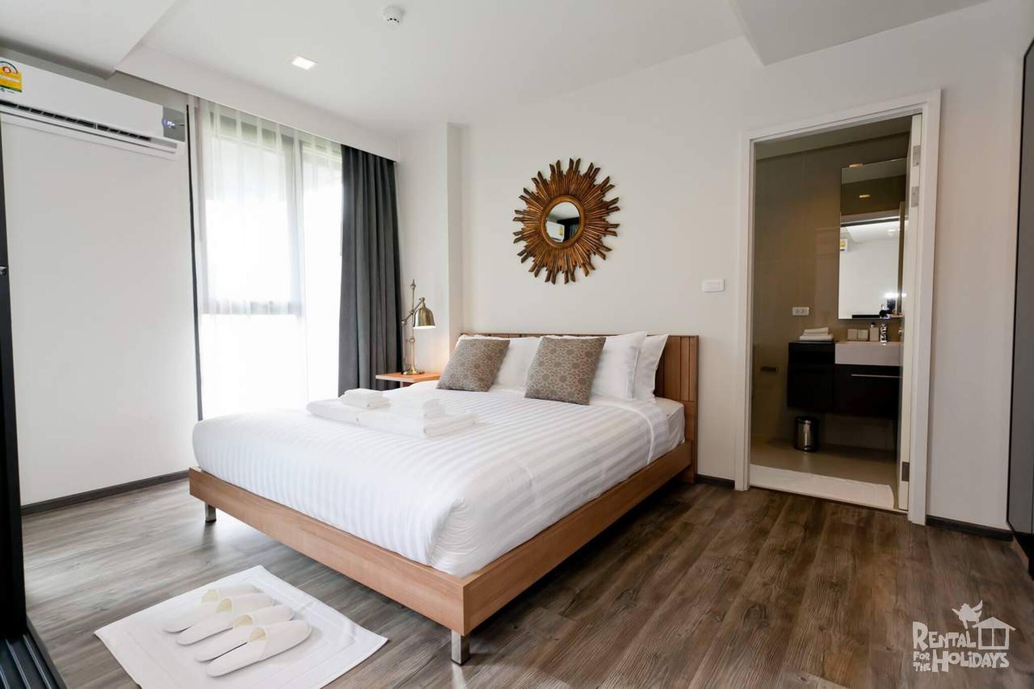 Moderner 1 Br Wifi Pool zu Fus zum Patong Beach Ferienwohnung in Asien und Naher Osten
