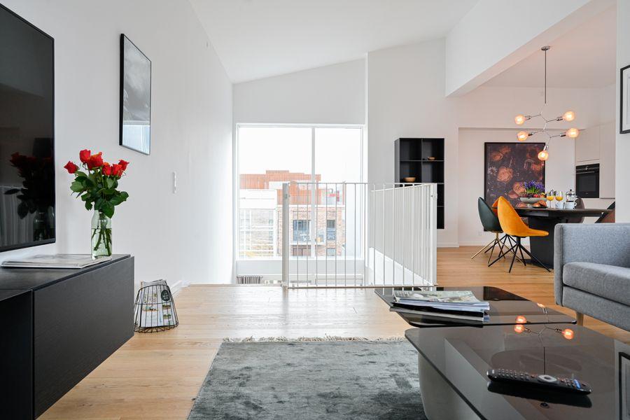 New Luxury 3-Bedroom Apartment in Copenhagen Nordhavn