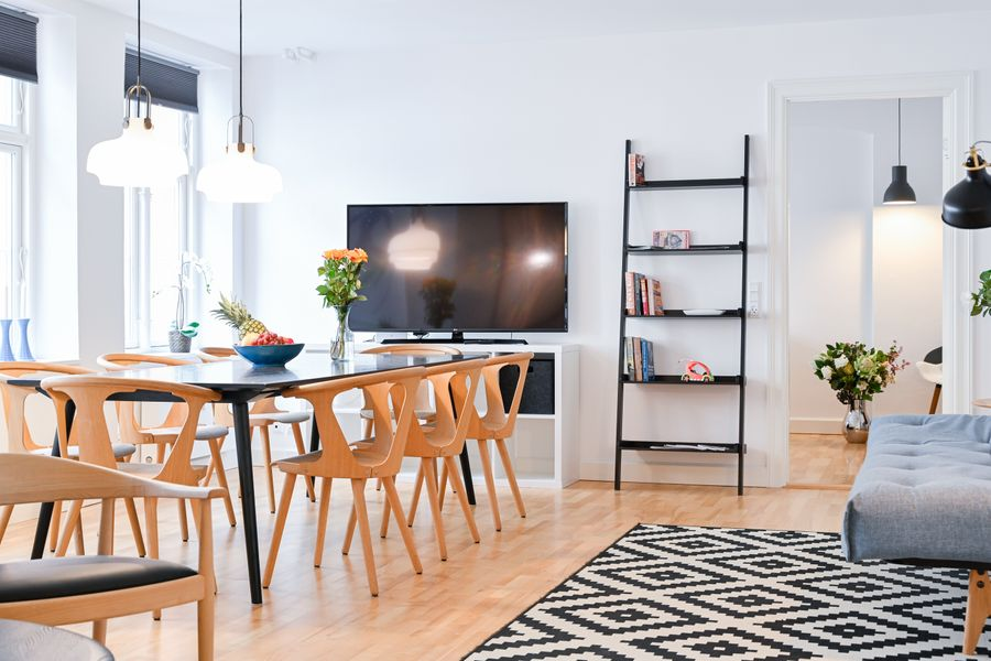 Beautiful 2-bedroom apartment in the heart of Copenhagen