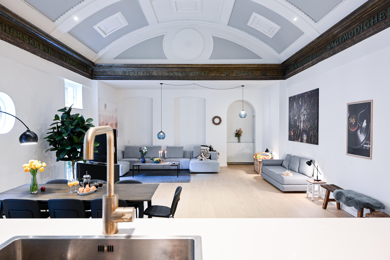 Geraumiges Apartment mit 2 Schlafzimmern im angesagten Viertel von Kopenhagen Vesterbro