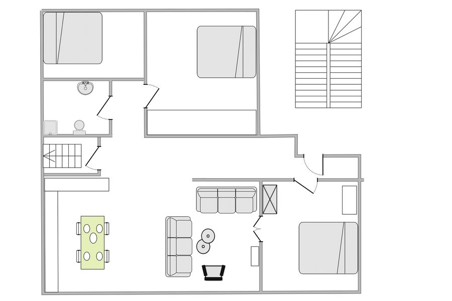 Modern 3-bedroom luxury apartment in the heart of Copenhagen