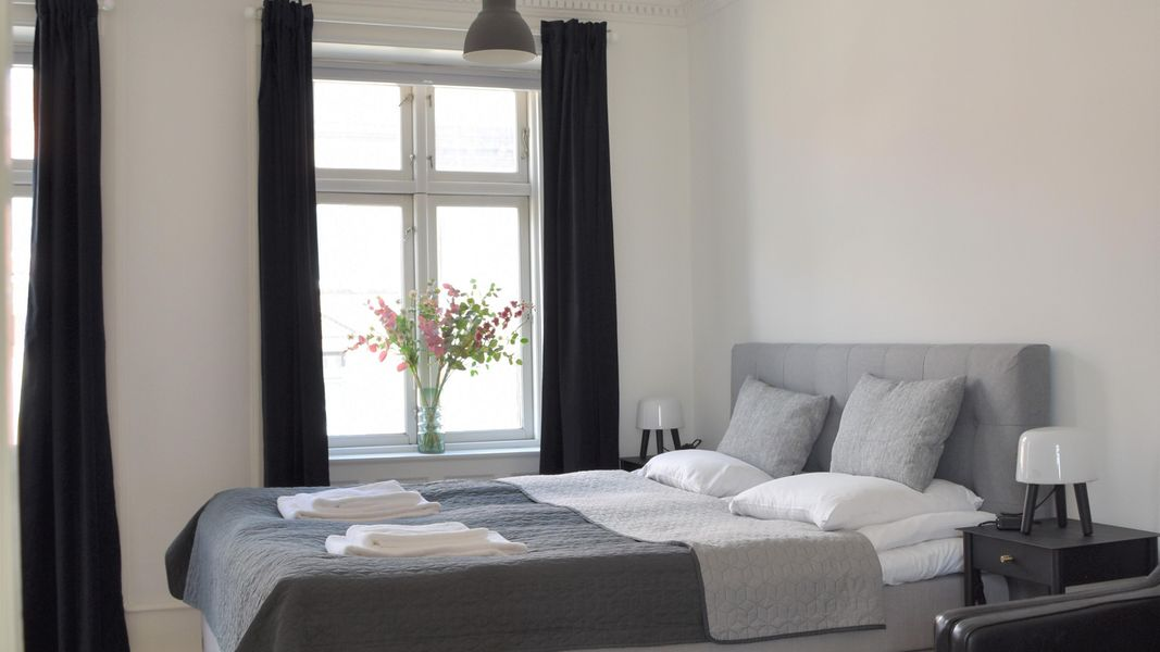 Spacious Three-bedroom Apartment in the Iconic Historical Part of Copenhagen