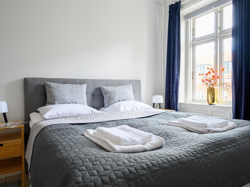 Spacious Three-bedroom Apartment in the Iconic Historical Part of Copenhagen