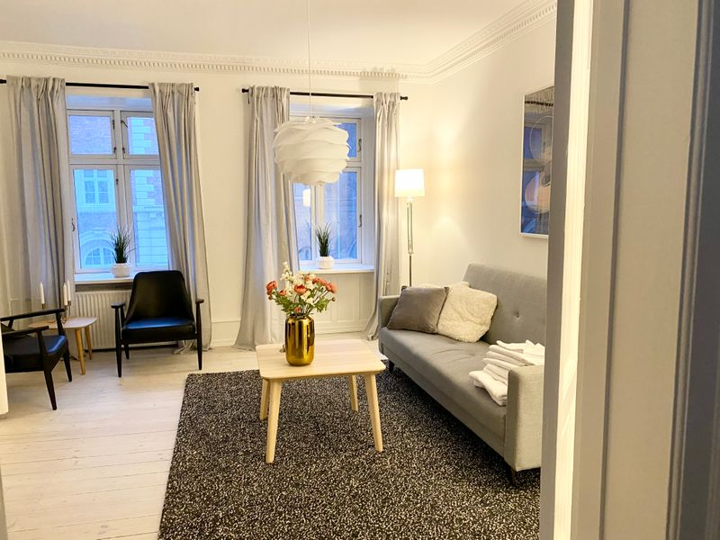 Awesome Two-bedroom apartment near Nyhavn