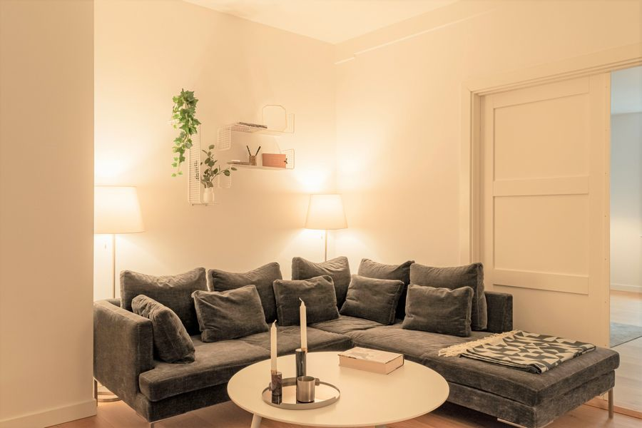Hyggelig and spacious 4-bedroom apartment in the heart of Copenhagen