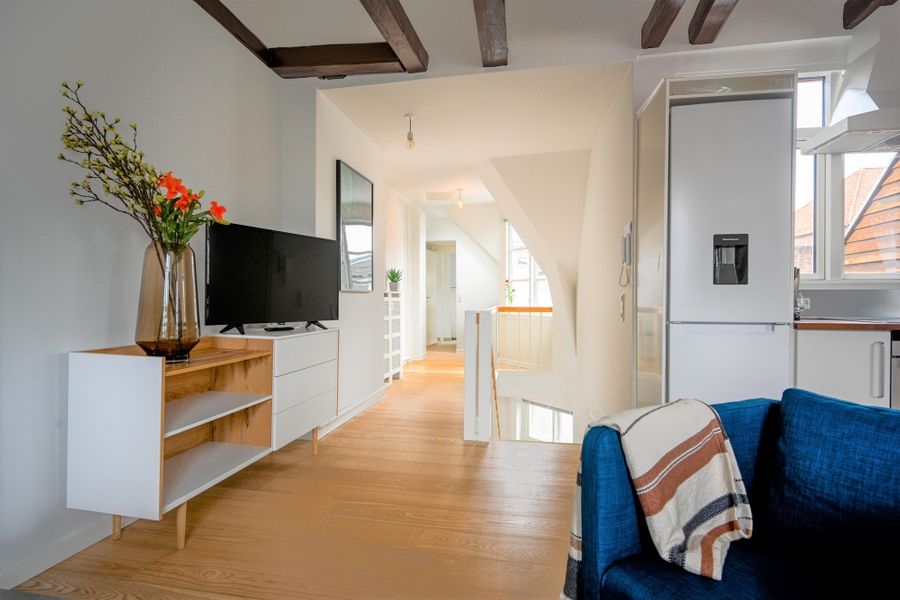 Spacious and Bright Duplex Apartment with a Terrace