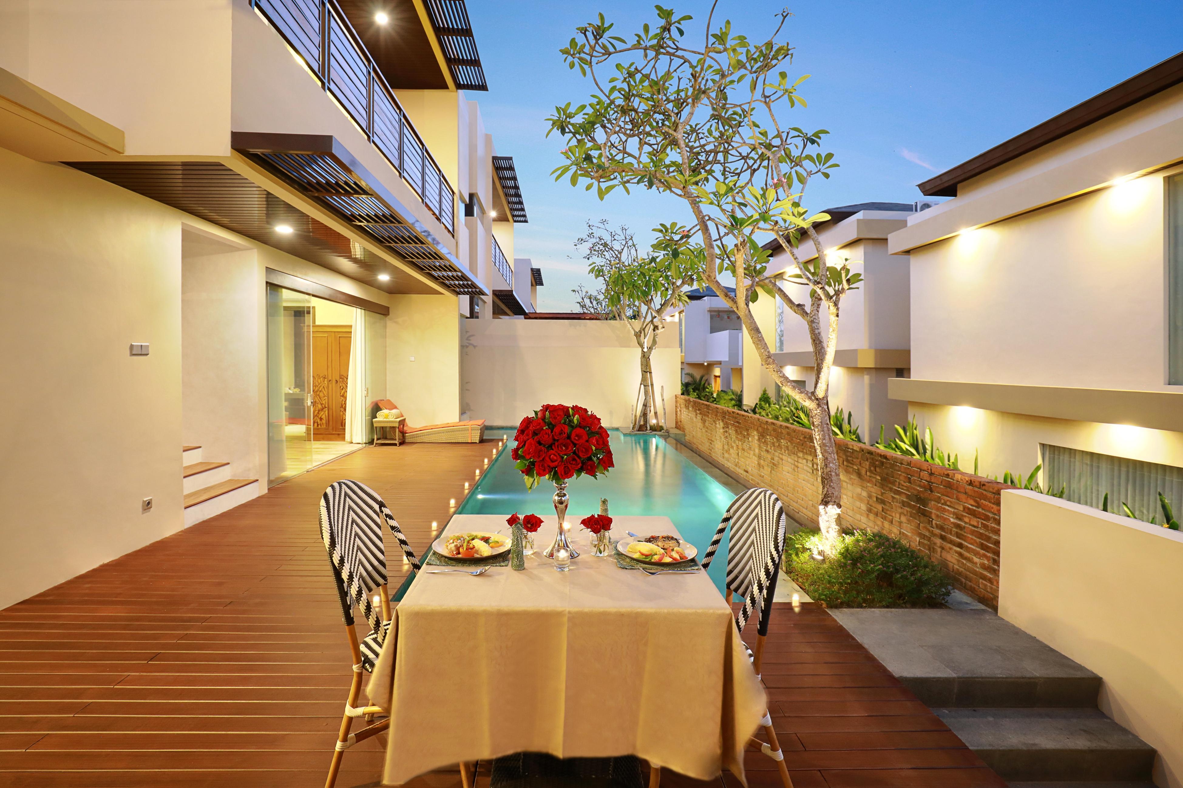 Villa mit 1 Schlafzimmer und eigenem Pool