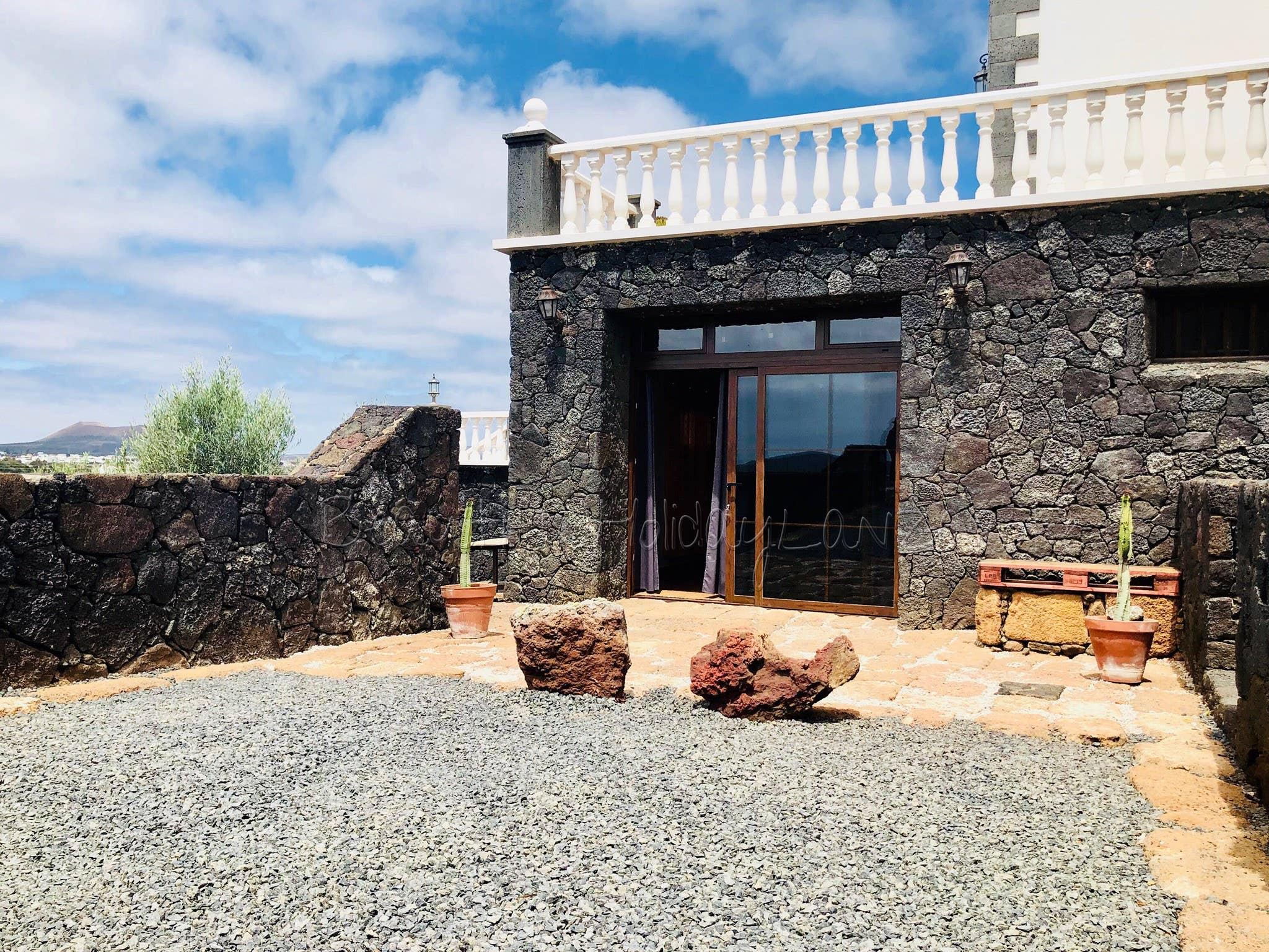 Casa Bellavista mit tollen Ausblick in Mozaga Ferienhaus  Lanzarote